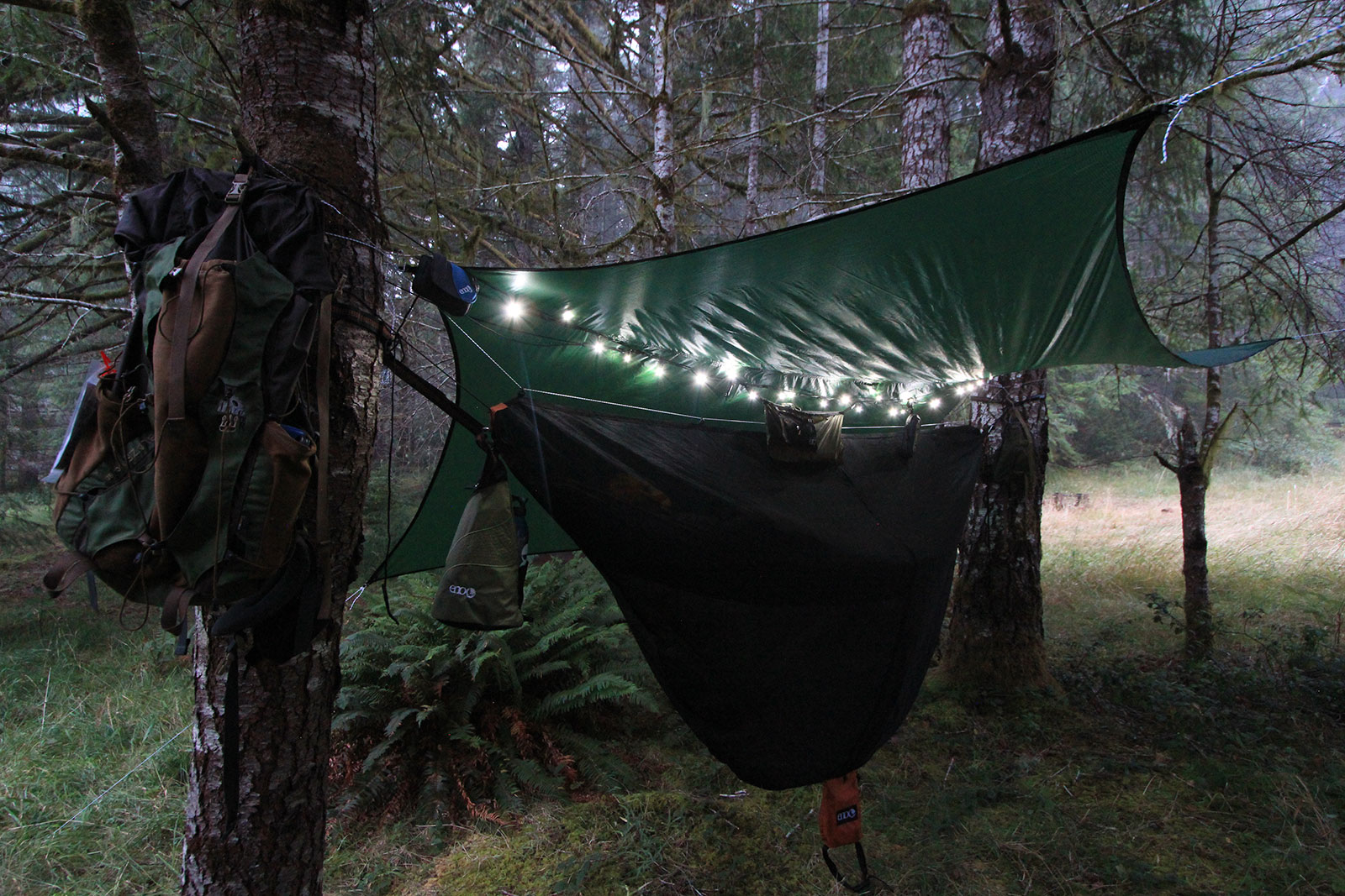 Eno Singlenest Onelink Sleep System Powder Royal Hammock