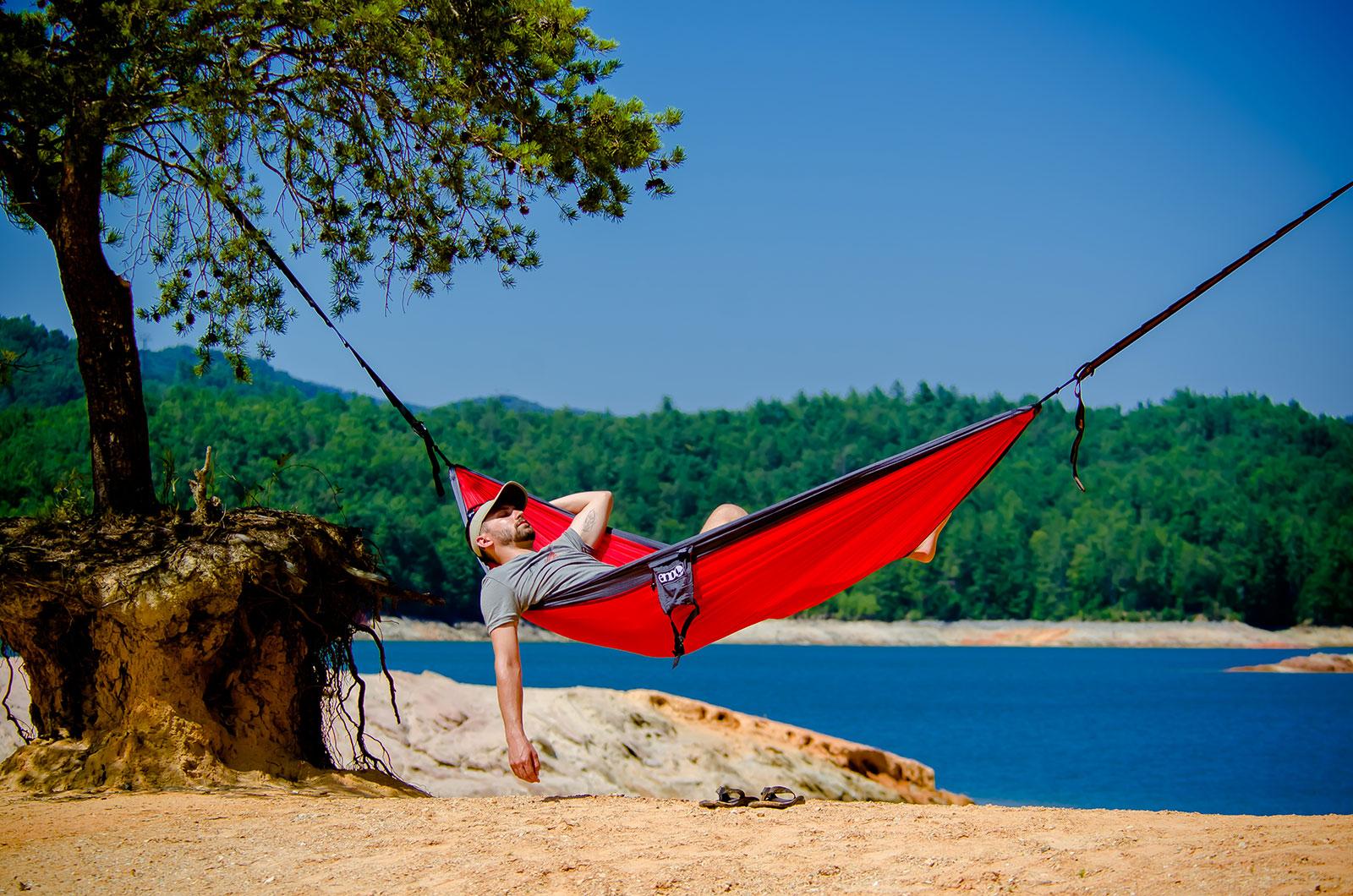 ENO SingleNest Hammock Outdoor Camping Backpacking Nylon ...