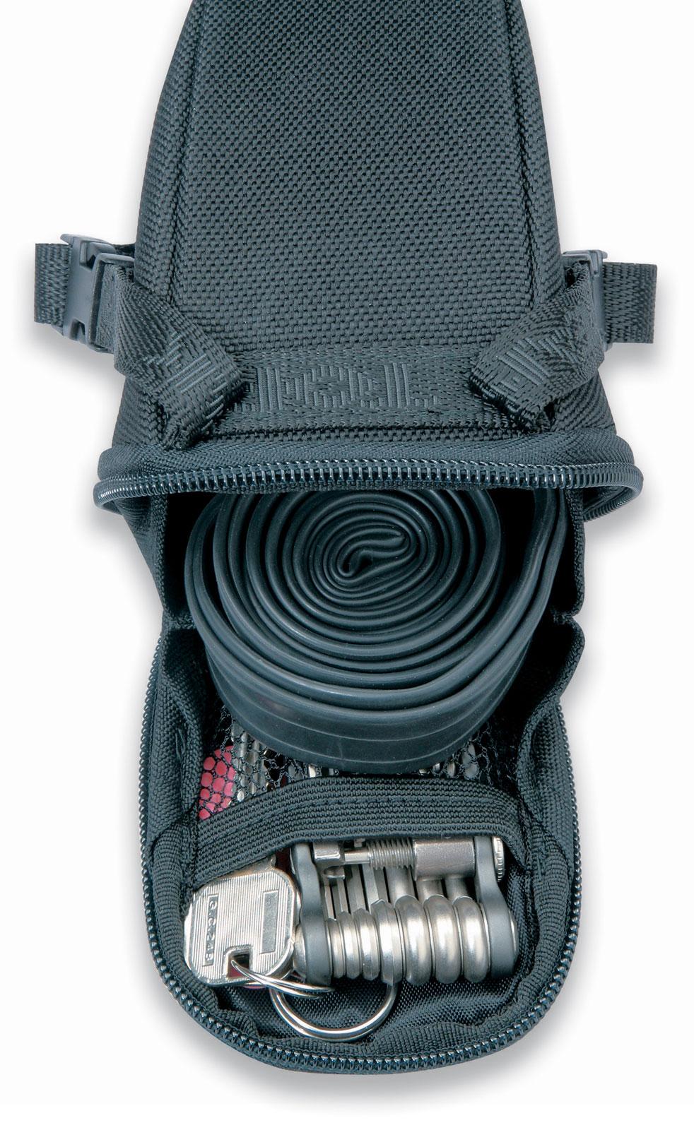 Topeak-Aero-Wedge-Pack-Strap-On-Seat-Mounted-Bag-for-27-2-34-9mm-Seatposts thumbnail 2