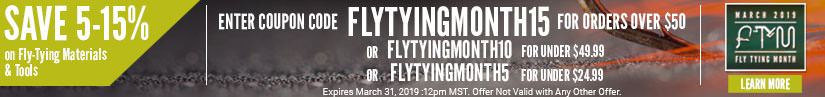Fly Tying Month 2019