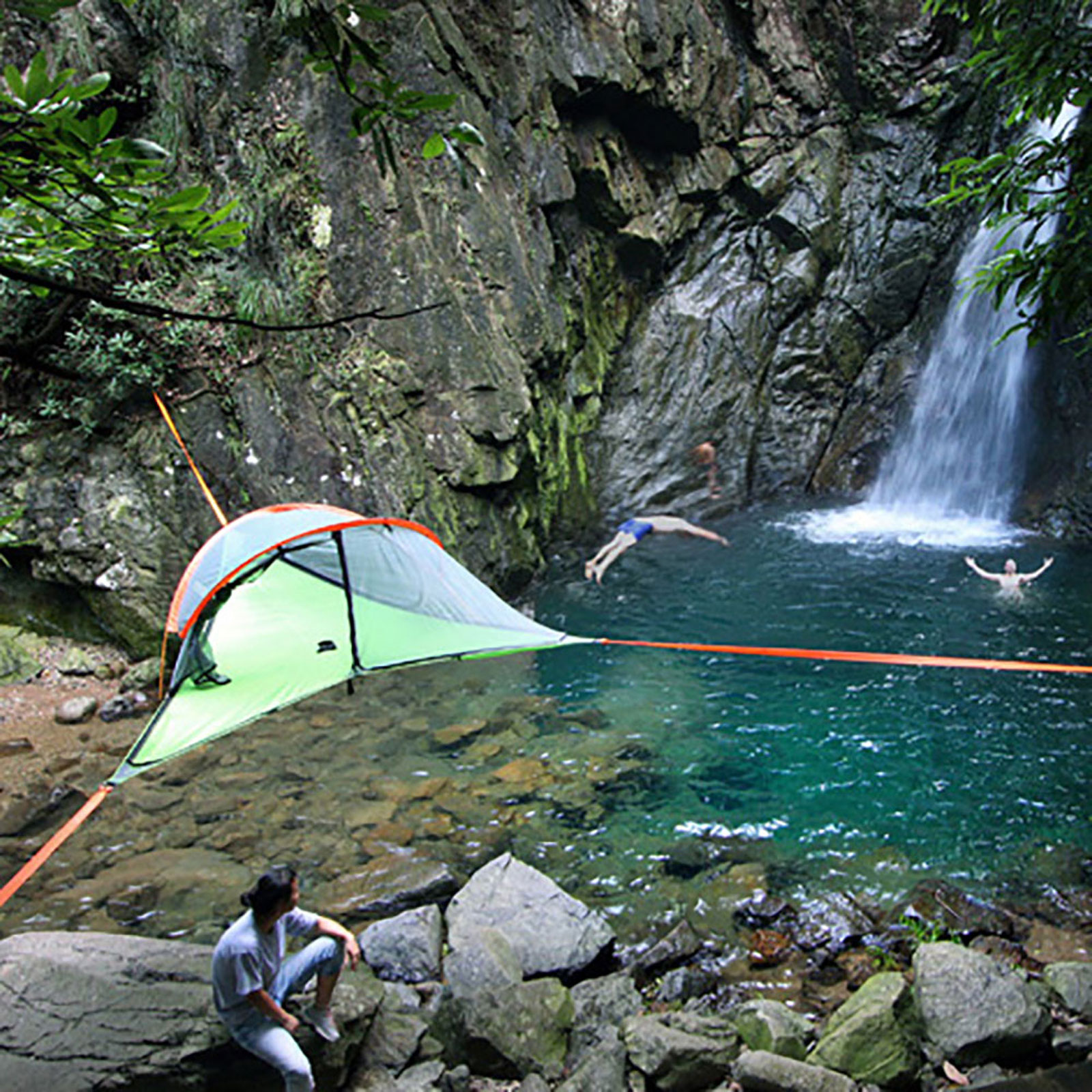 Picture 10 of 18; Picture 11 of 18 & Tentsile Connect Tree Camping Tent With Eno LED Twilight Camp ...
