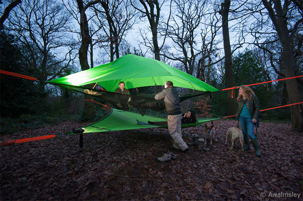 Tentsile-Vista-3-Person-Four-Season-C&ing-Suspended- & Tentsile Vista 3 Person Four Season Camping Suspended Tree Tent | eBay