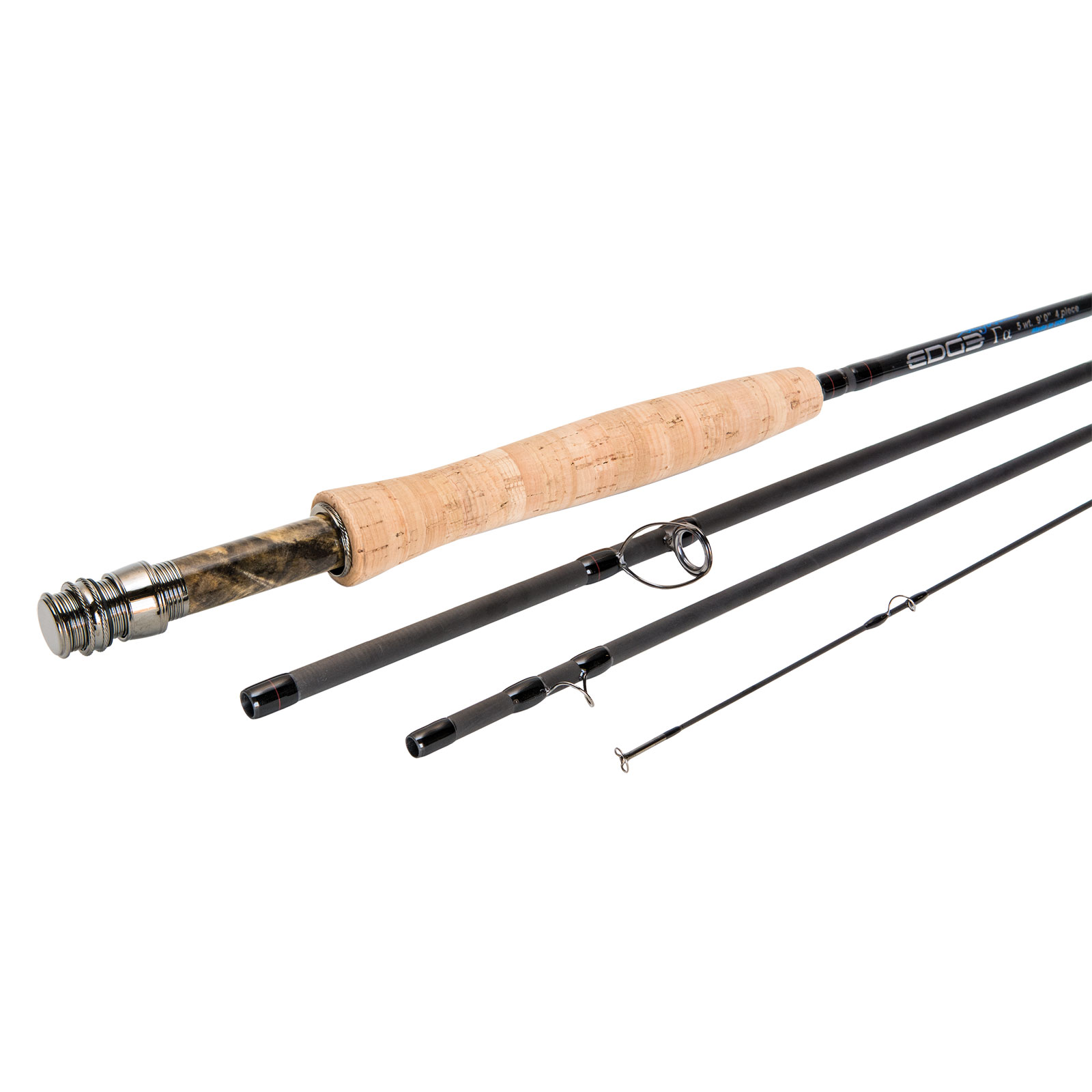 Edge gamma alpha moderate action fly fishing rods by gary for Edge fishing rods