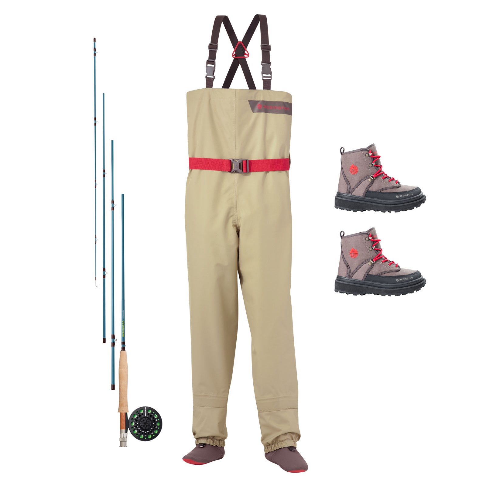 Redington crosswater youth ultimate fly fishing starter for Walmart fly fishing