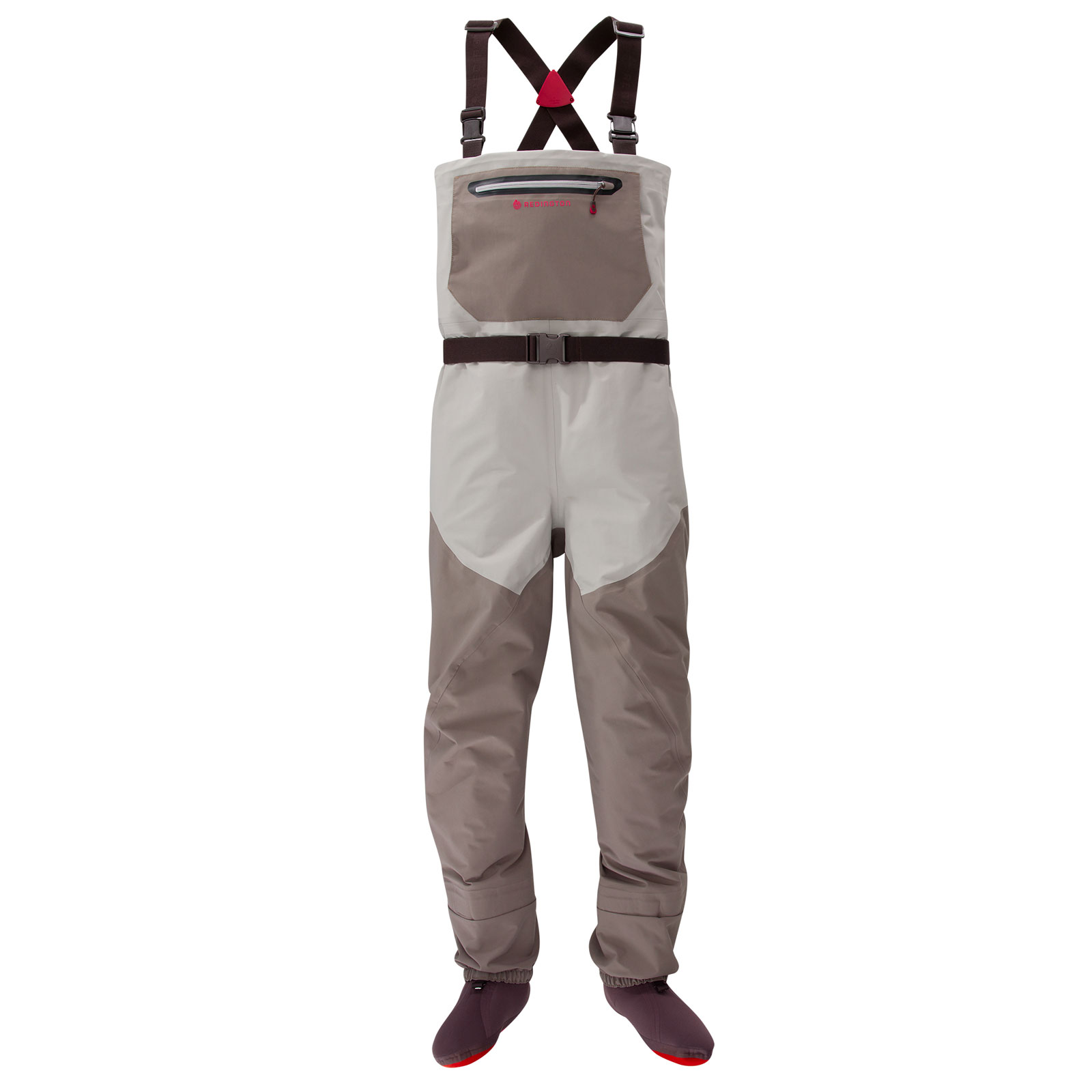 Redington sonic pro fly fishing wader feather grey falcon for Fly fishing waders