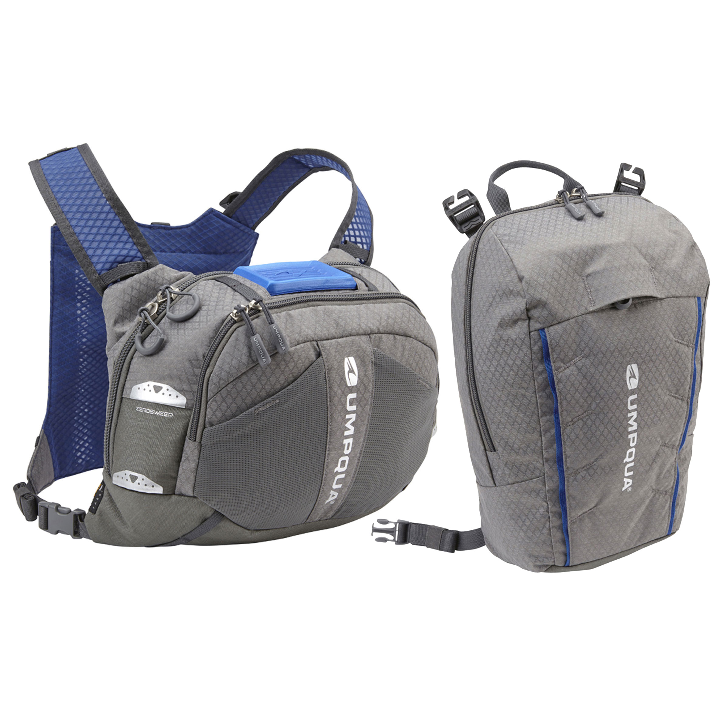 Umpqua overlook 500 zero sweep chest pack fly fishing kit for Fishing bags walmart