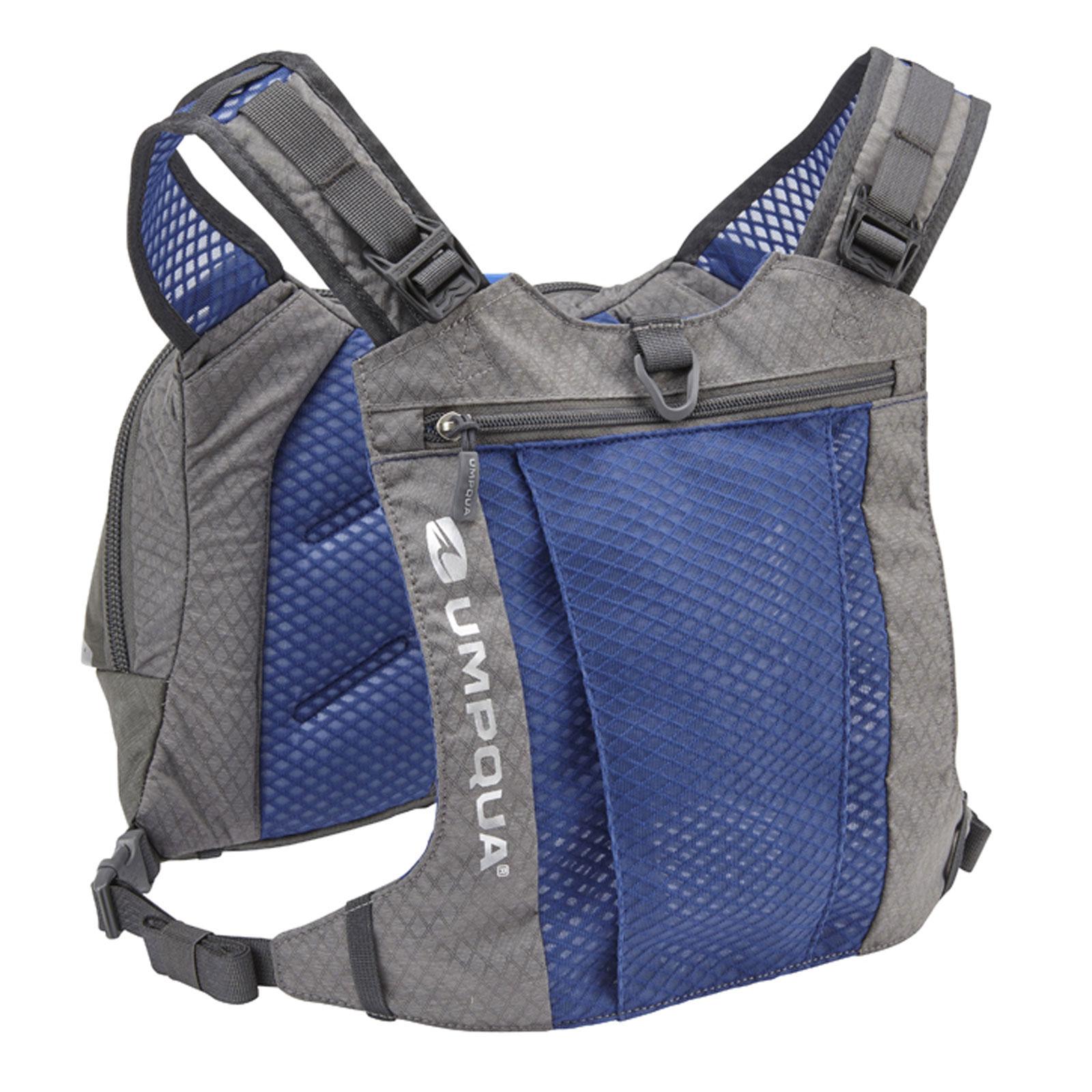 Umpqua overlook 500 zero sweep chest pack fly fishing kit for Fly fishing kits
