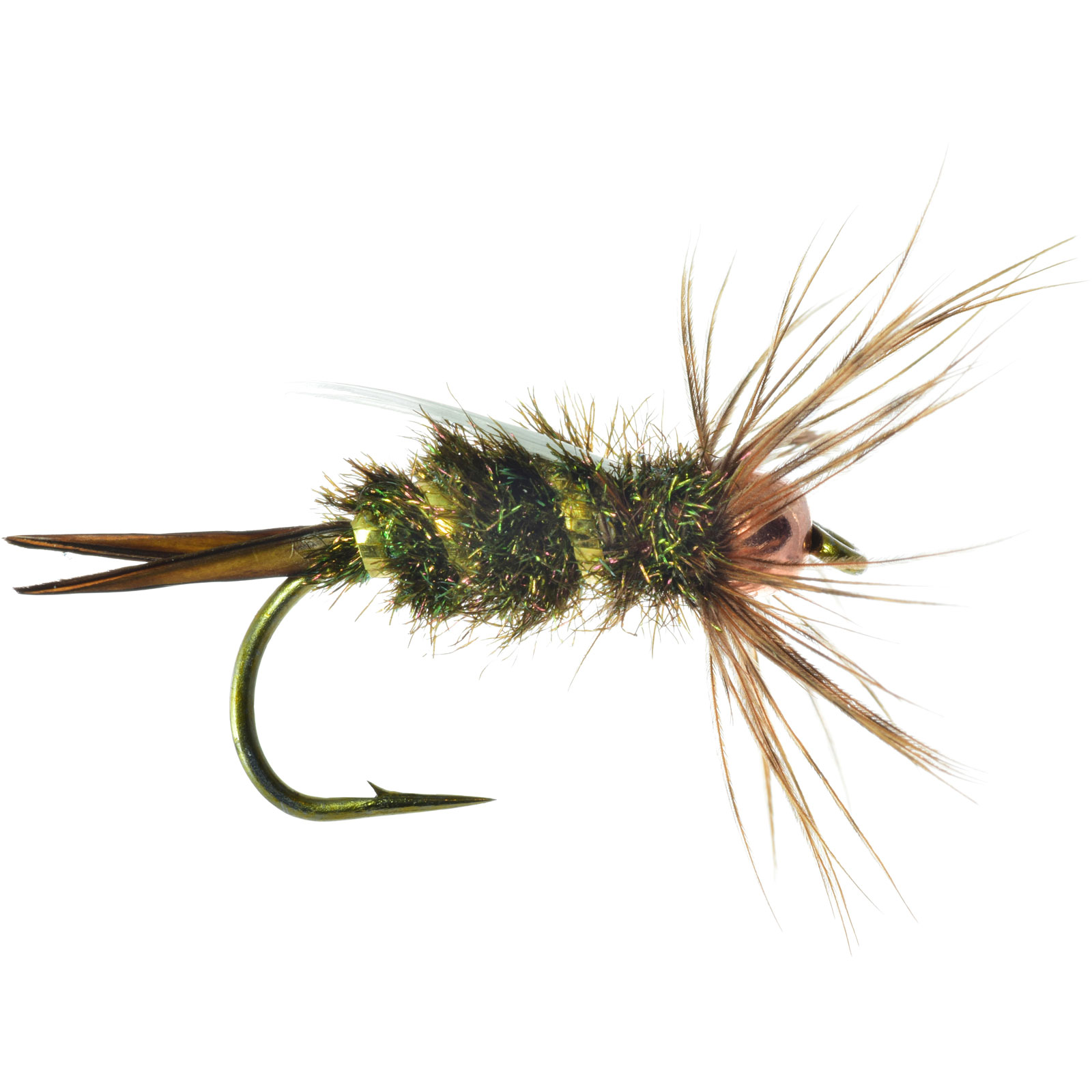 Umpqua tenkara prince copper simple fly fishing pattern ebay for Simple fly fishing