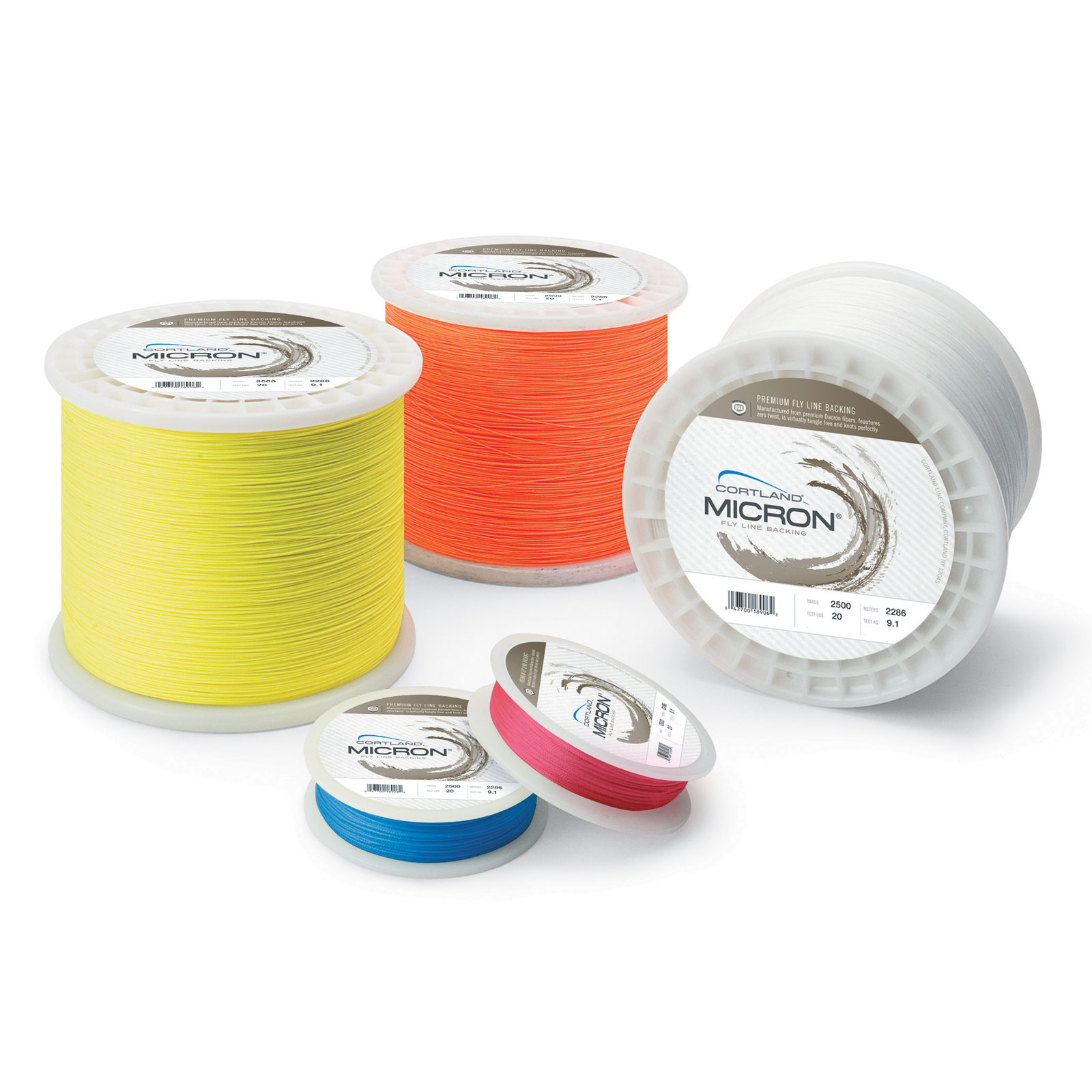 Cortland-Micron-Fly-Line-Backing-20-30-pounds-100-250-1000-2500-yards thumbnail 4