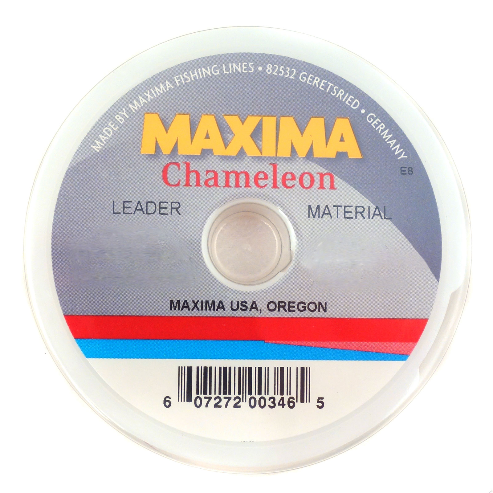 MAXIMA CHAMELEON,- 9FT.- 5X- 3LB., FLY FISHING LEADERS TAPERED LEADERS 6 PACK