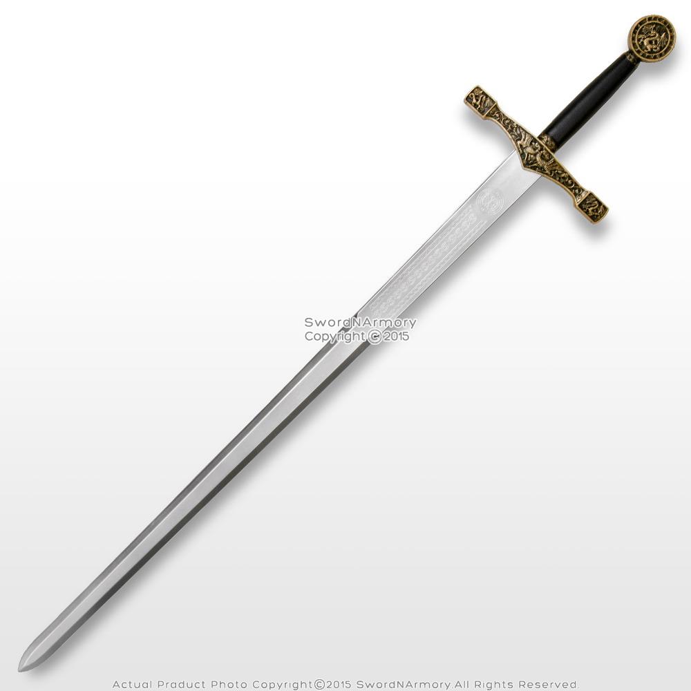 """44"""" Foam Excalibur Knights Crusader Long Sword LARP ..."""
