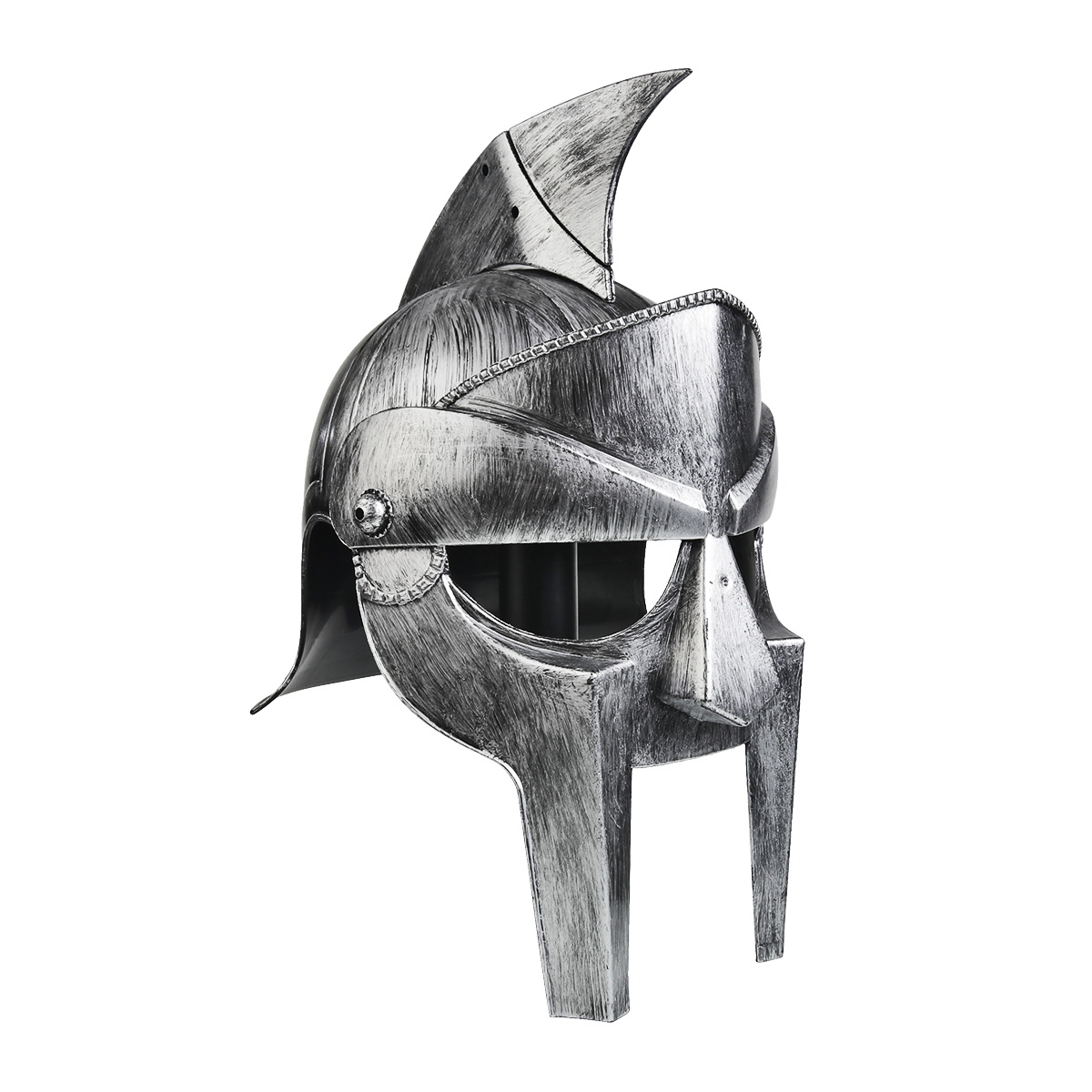 PICK YOUR WEAPON Gray Mask Helmet Medieval Knights Plastic Weapon Accessory Toys