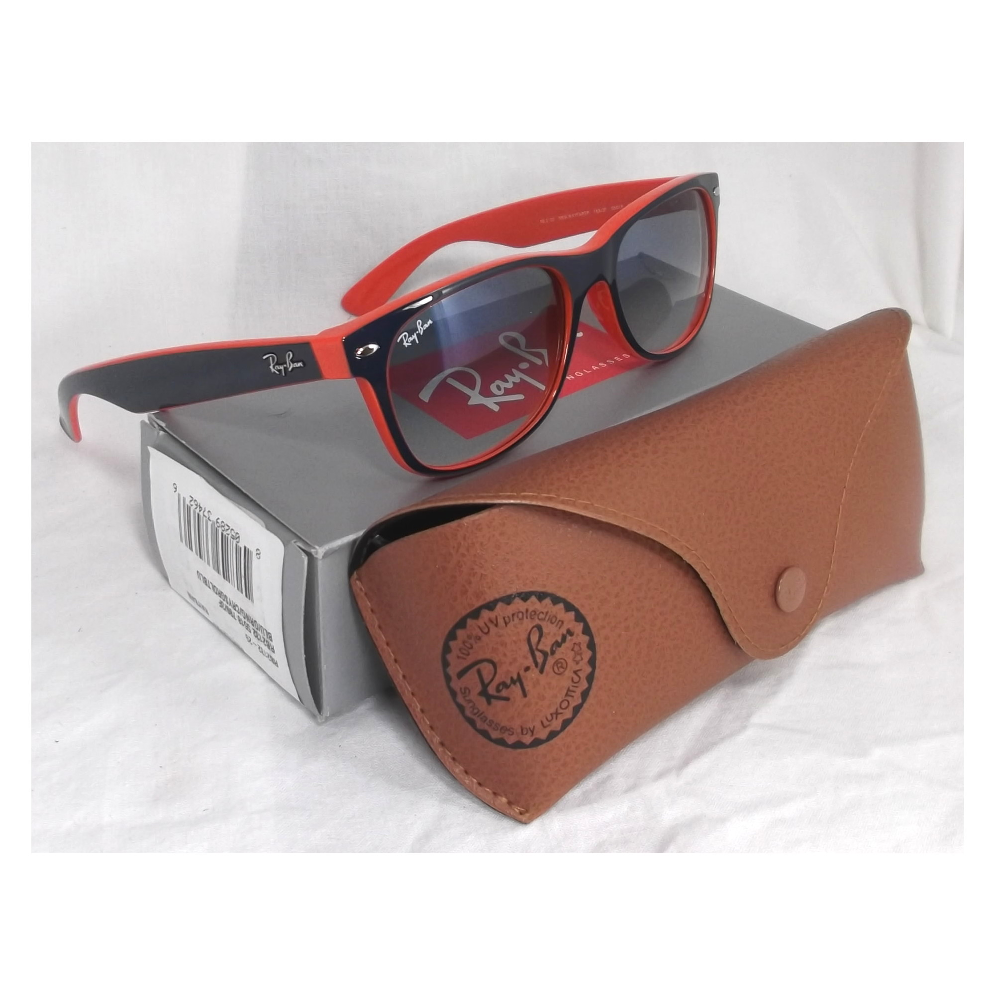 91ecaa69b01 Ray Ban Sunglasses Blue Orange