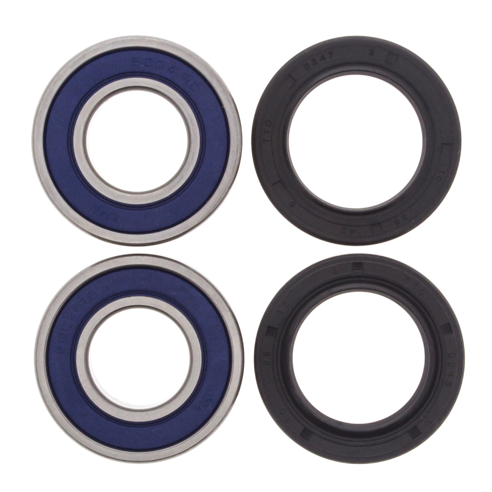 93-00 Honda TRX300 Fourtrax 300 2x4 BOTH Front Wheel Bearing /& Seal Kits