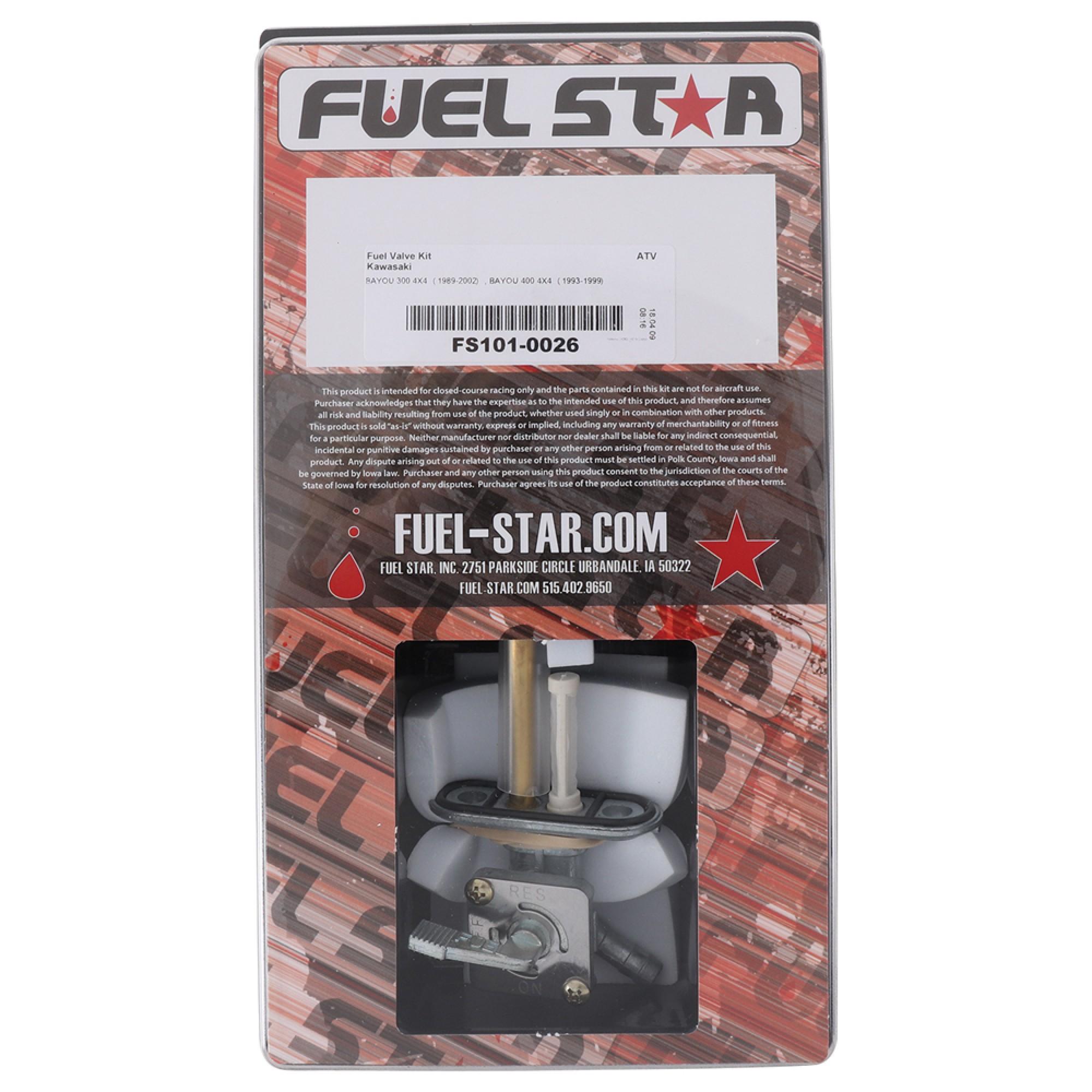 FUEL STAR Fuel Valve Kit FS101-0041