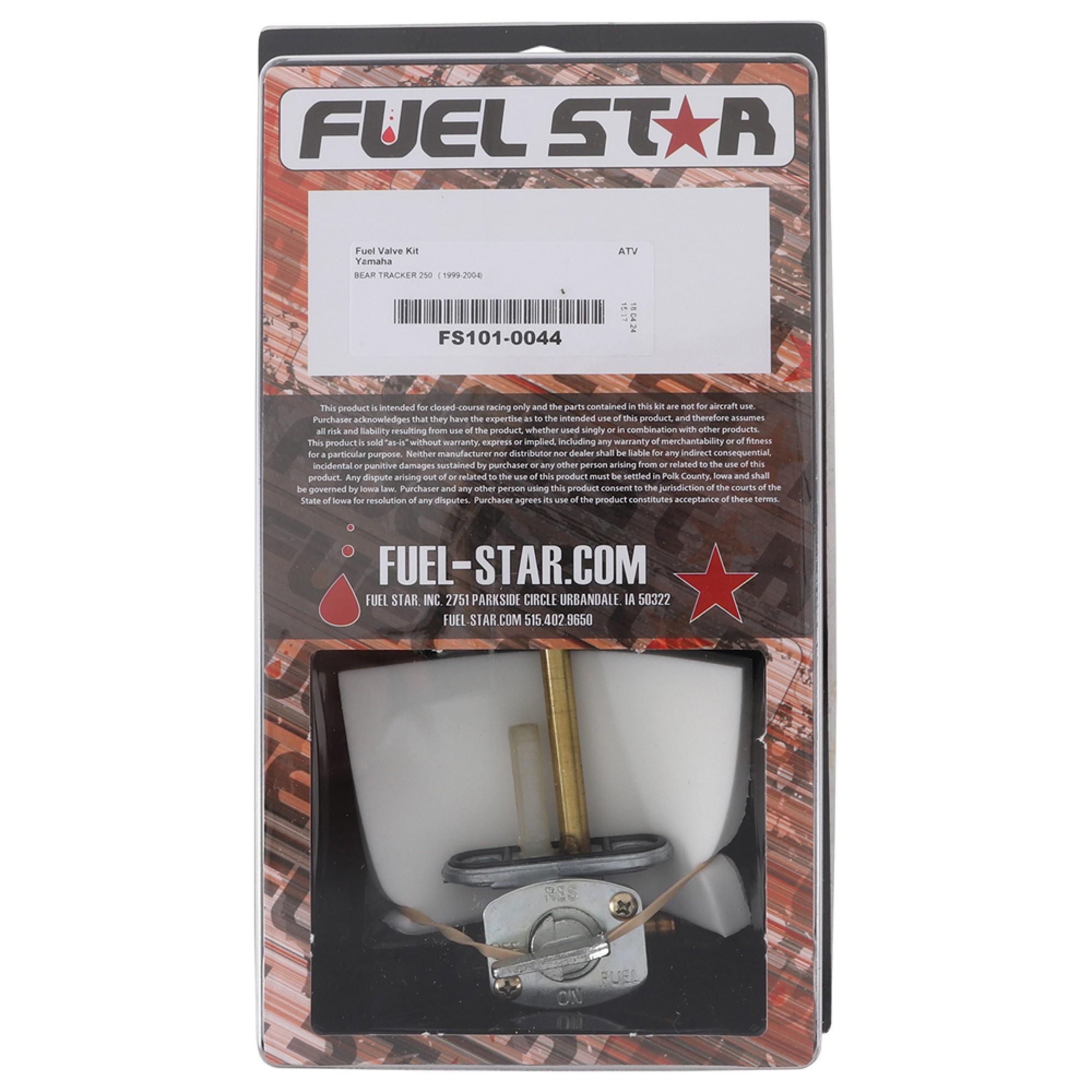 Fuel Star FS101-0038 Fuel Valve Kit