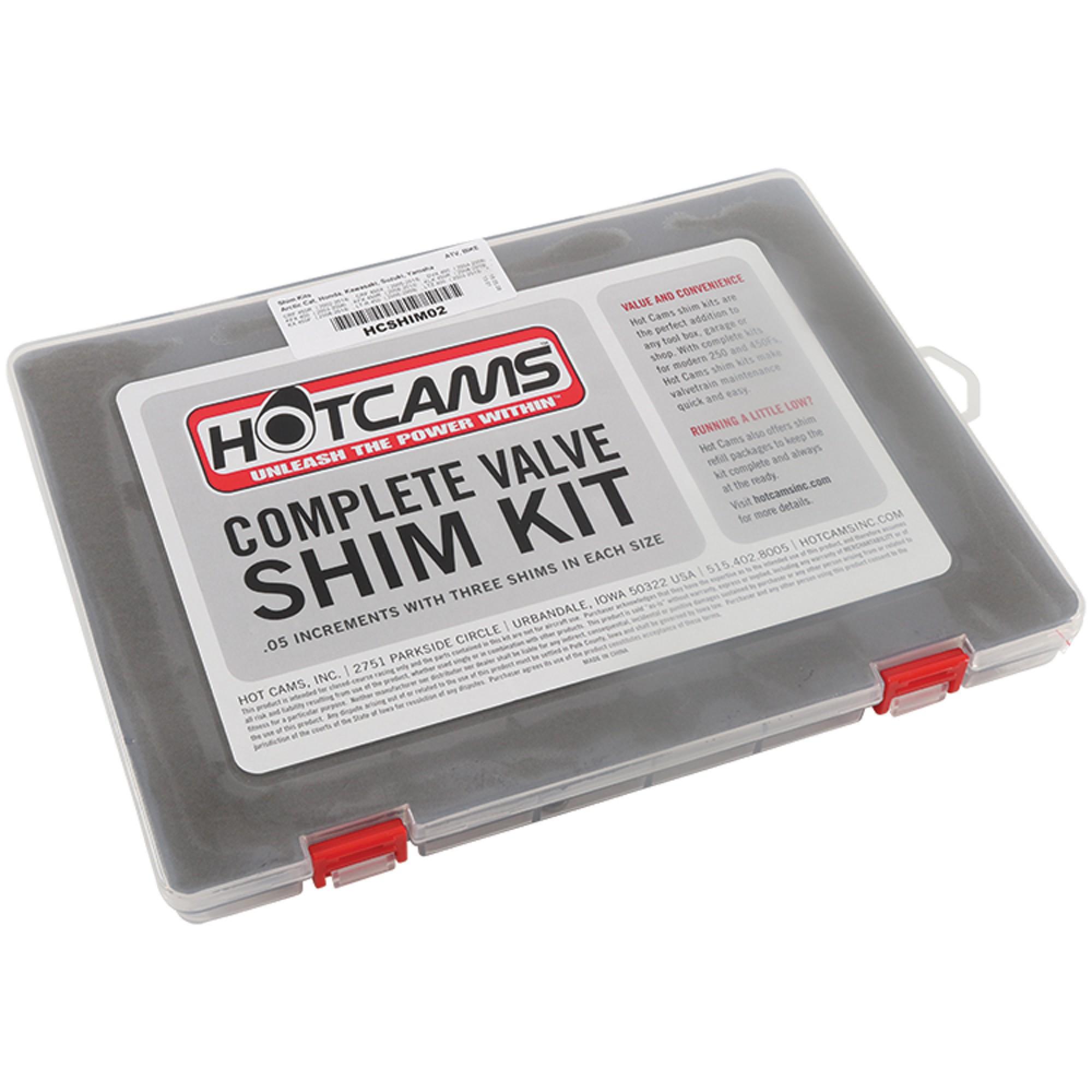 Honda CRF450R CRF450X TRX450R Cams Valve Shim Shims Kit CRF TRX 450R//X HOT CAMS