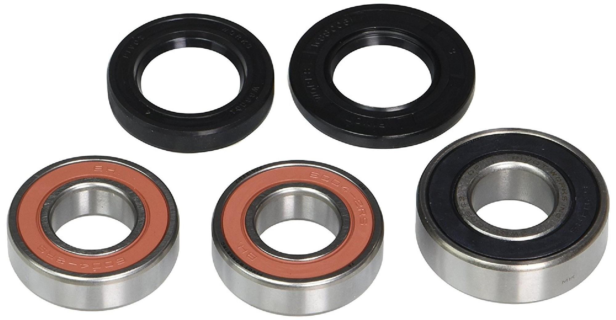 New Pivot Works Wheel Bearing Kit PWRWS-K20-000 For Kawasaki ZX 6R 2007-2008