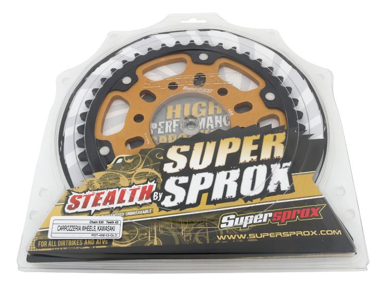 SuperSprox RST-478-43-GLD Gold Stealth Sprocket