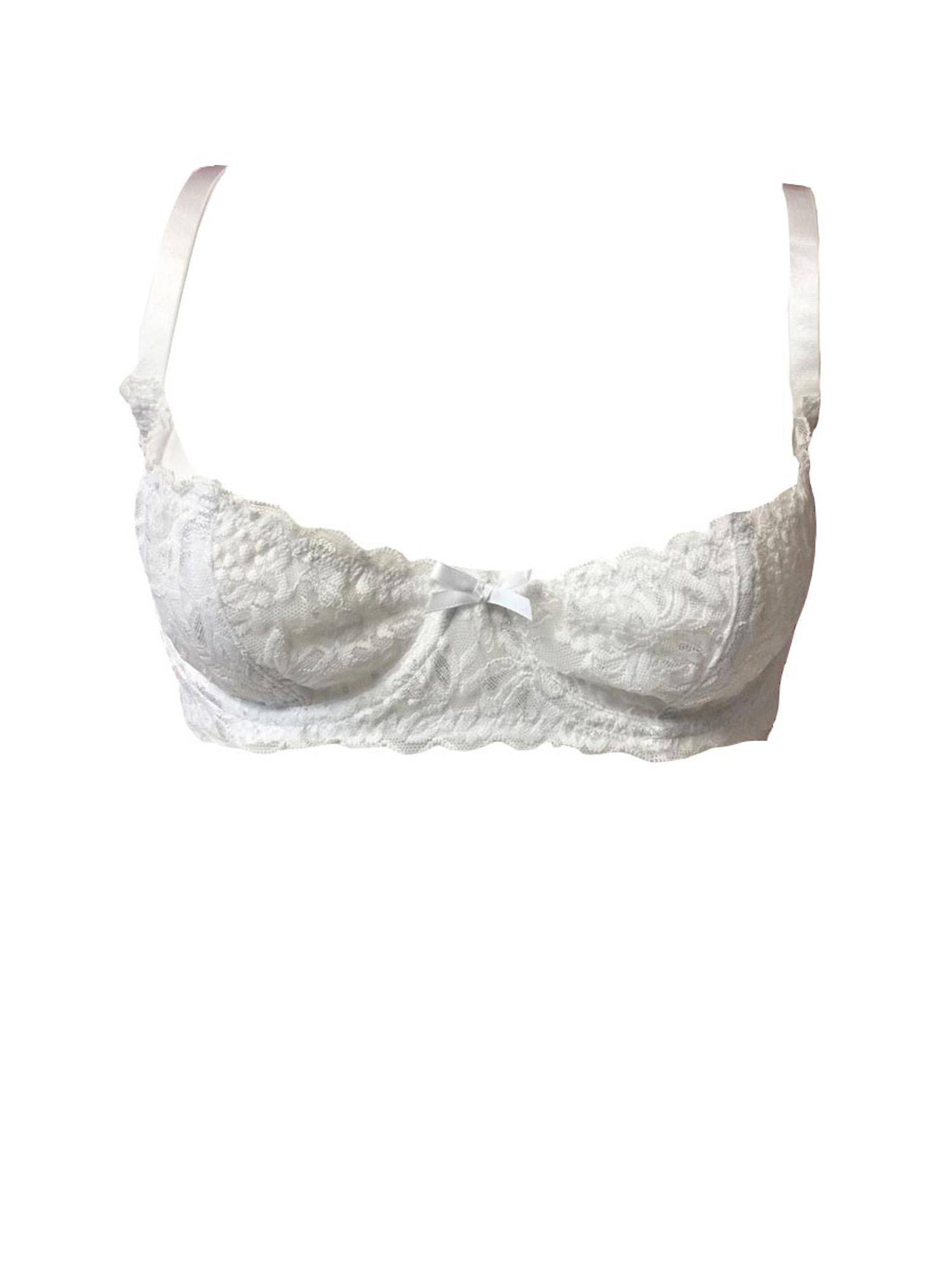 sexy plus size open cup stretch lace underwire shelf bra