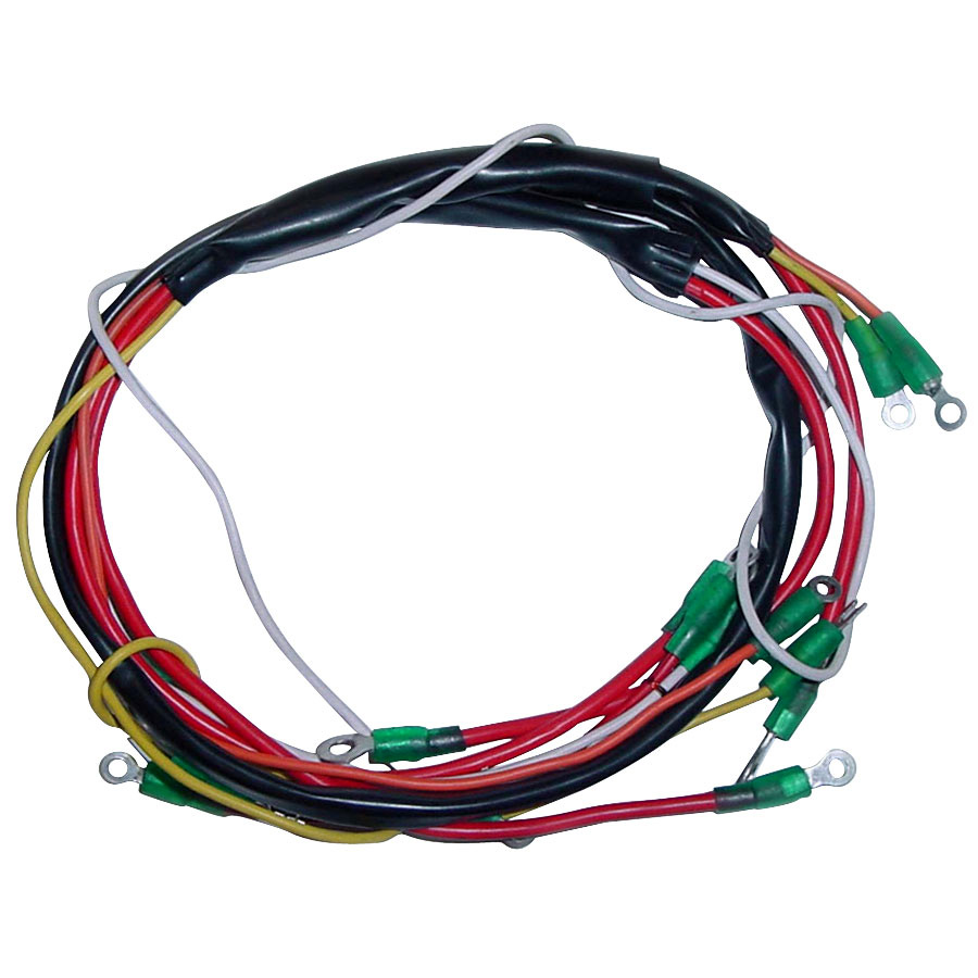 Ford 600 Tractor Wiring Diagram: Alternator Wiring Harness For Ford New Holland Tractor 600