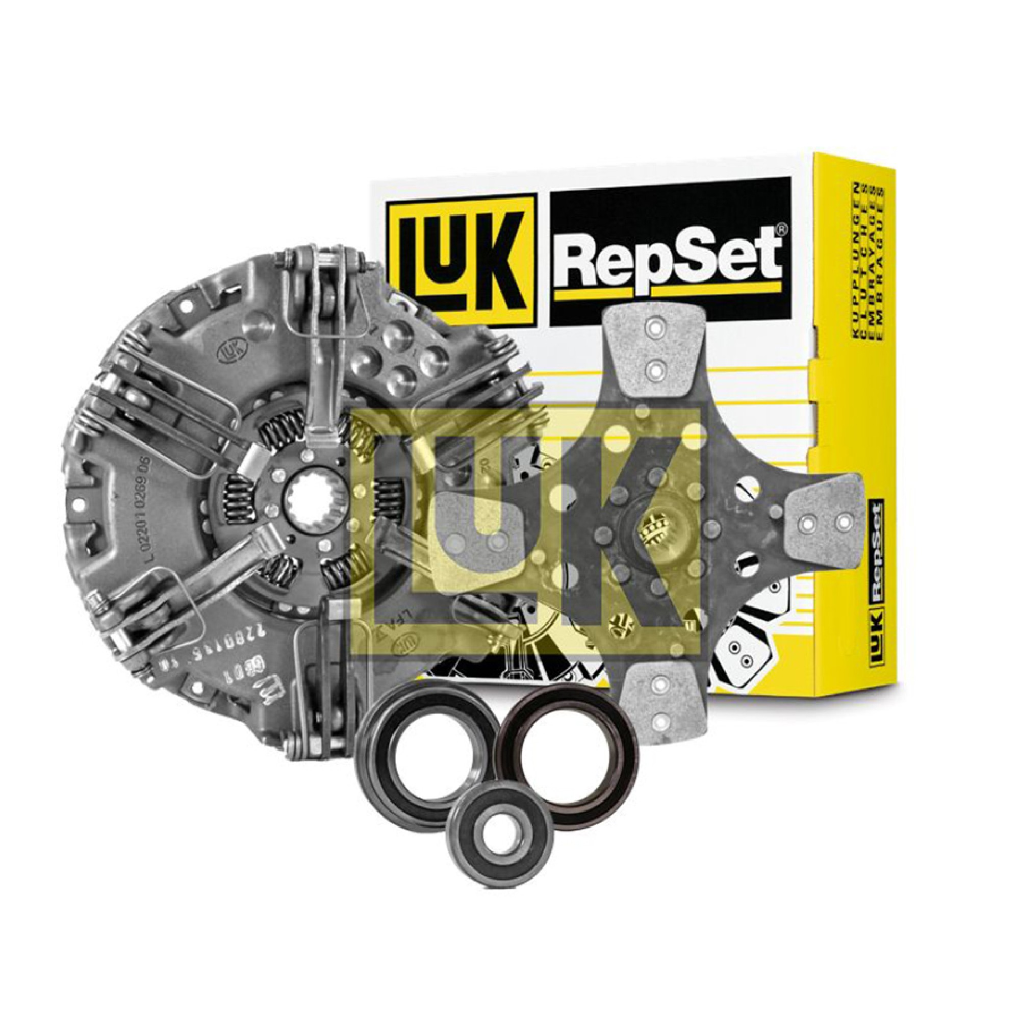 New LuK Clutch Kit For Ford New Holland TN70 TN70A TN70D 228-0136-10  328-0332-10