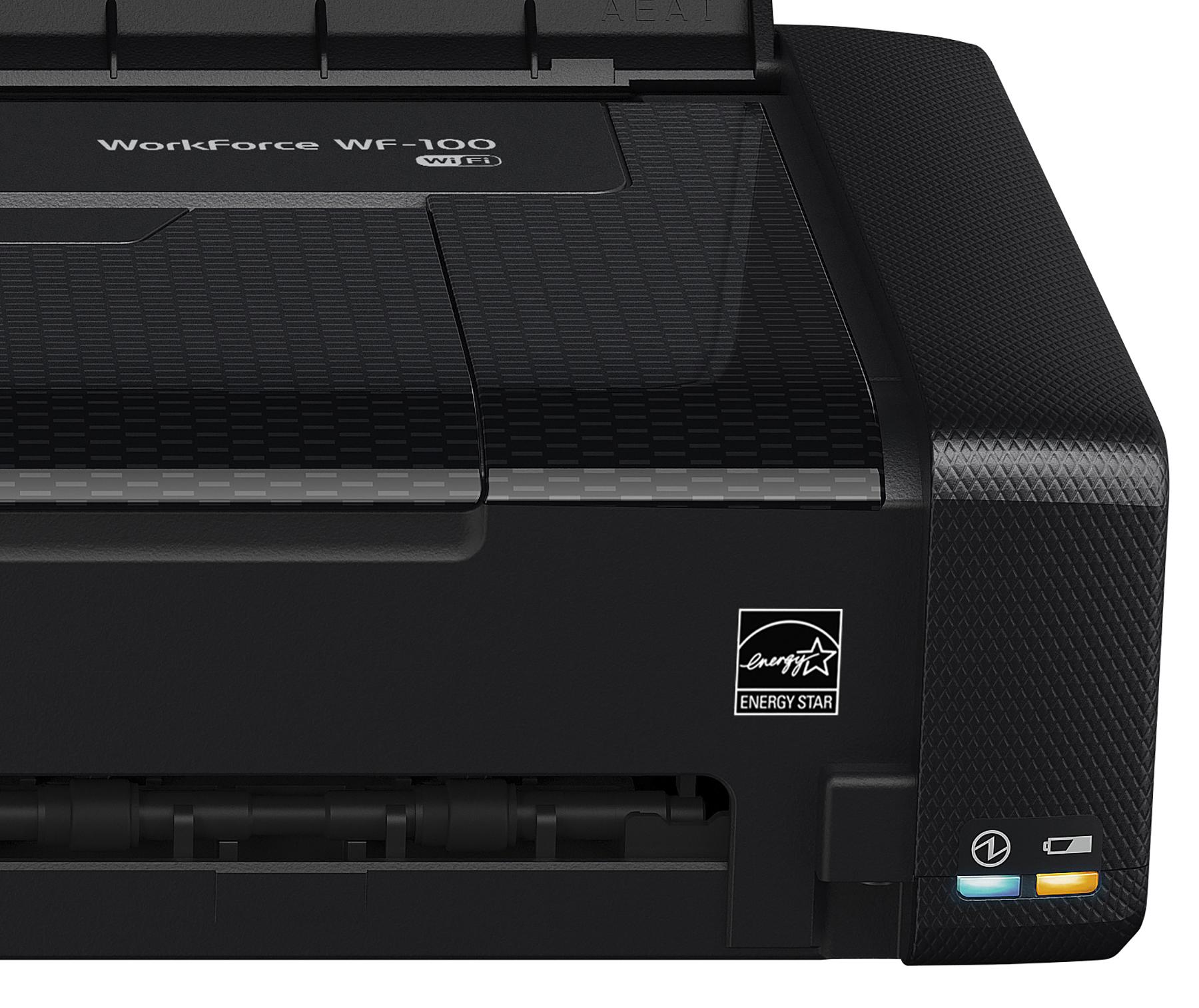 Epson WorkForce WF-100 Wireless Mobile Printer Wi-Fi ...