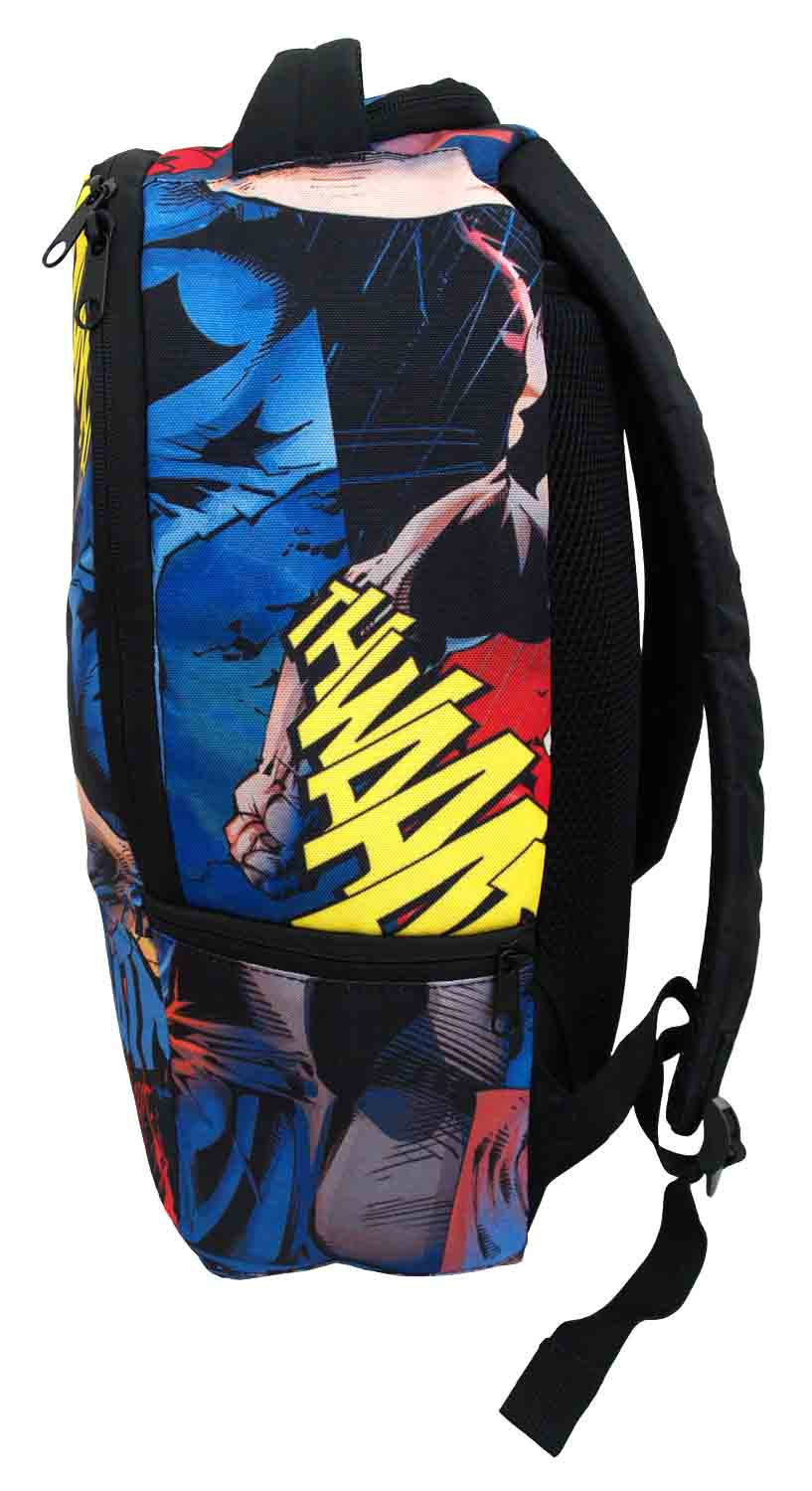 Batman DC Comics All Over Sublimation Print Men/'s Backpack Bag