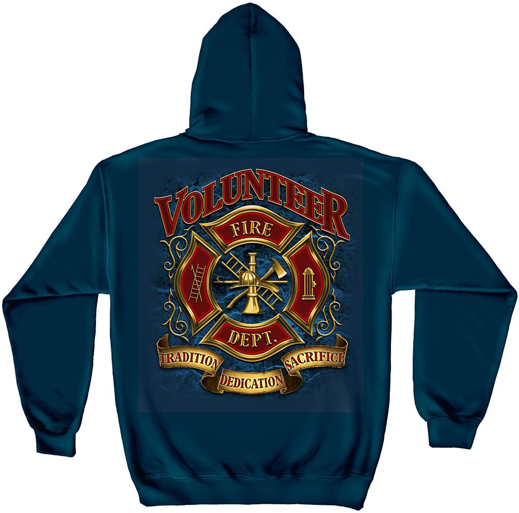 Fire department hoodies