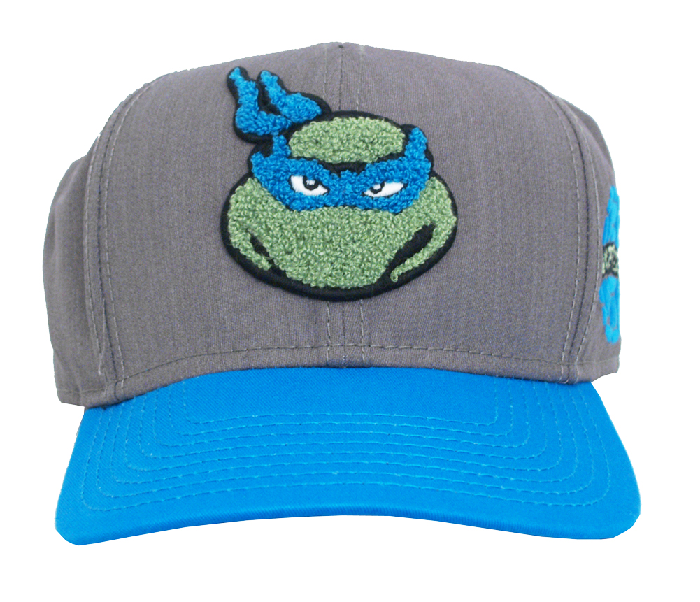 Leonardo Teenage Mutant Ninja Turtles Patch Adult Snapback B