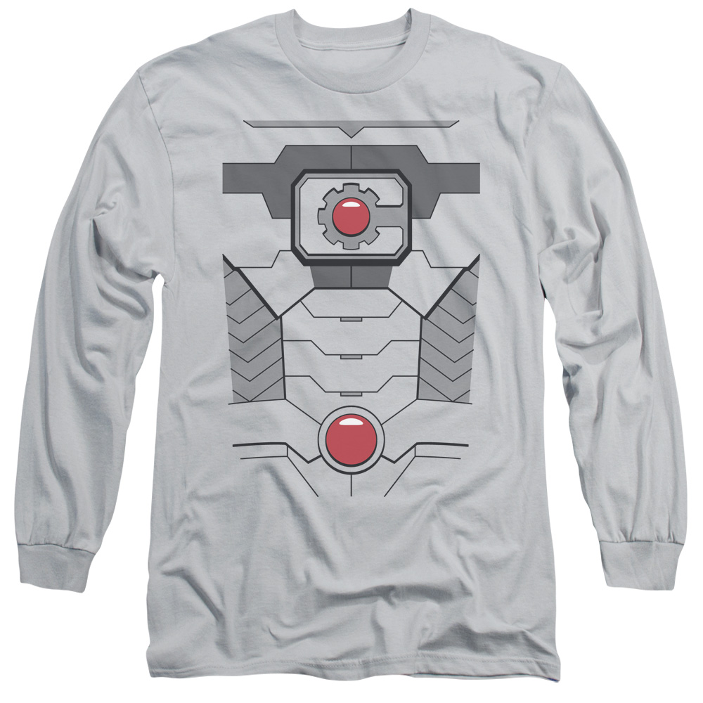 Cyborg Engaged Justice League DC Comics Licensed Adult T-Shirt