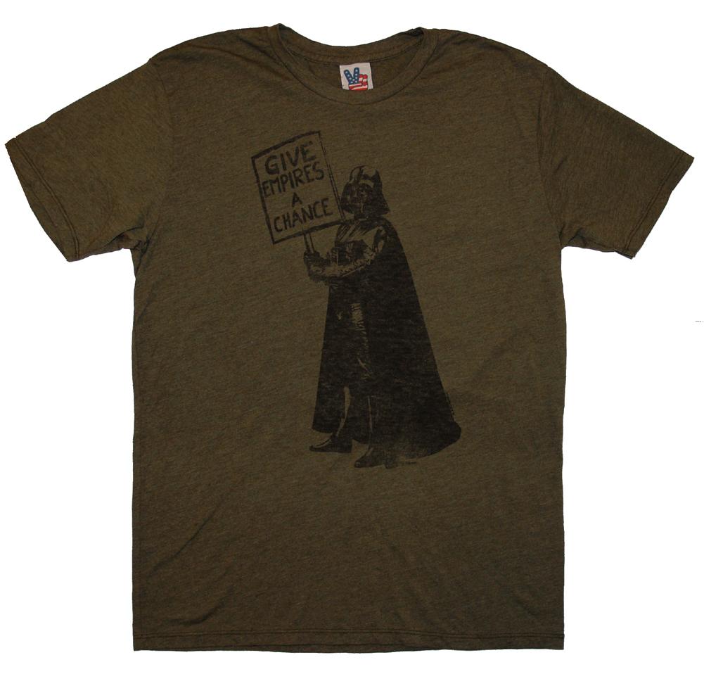 Star-Wars-Darth-Vader-Give-Empires-A-Chance-Movie-Junk-Food-Adult-T-Shirt-Tee