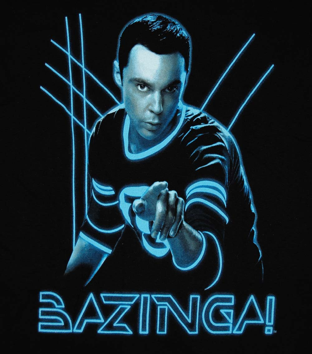 Ripple Junction The Big Bang Theory Comic Book Bazinga T-S