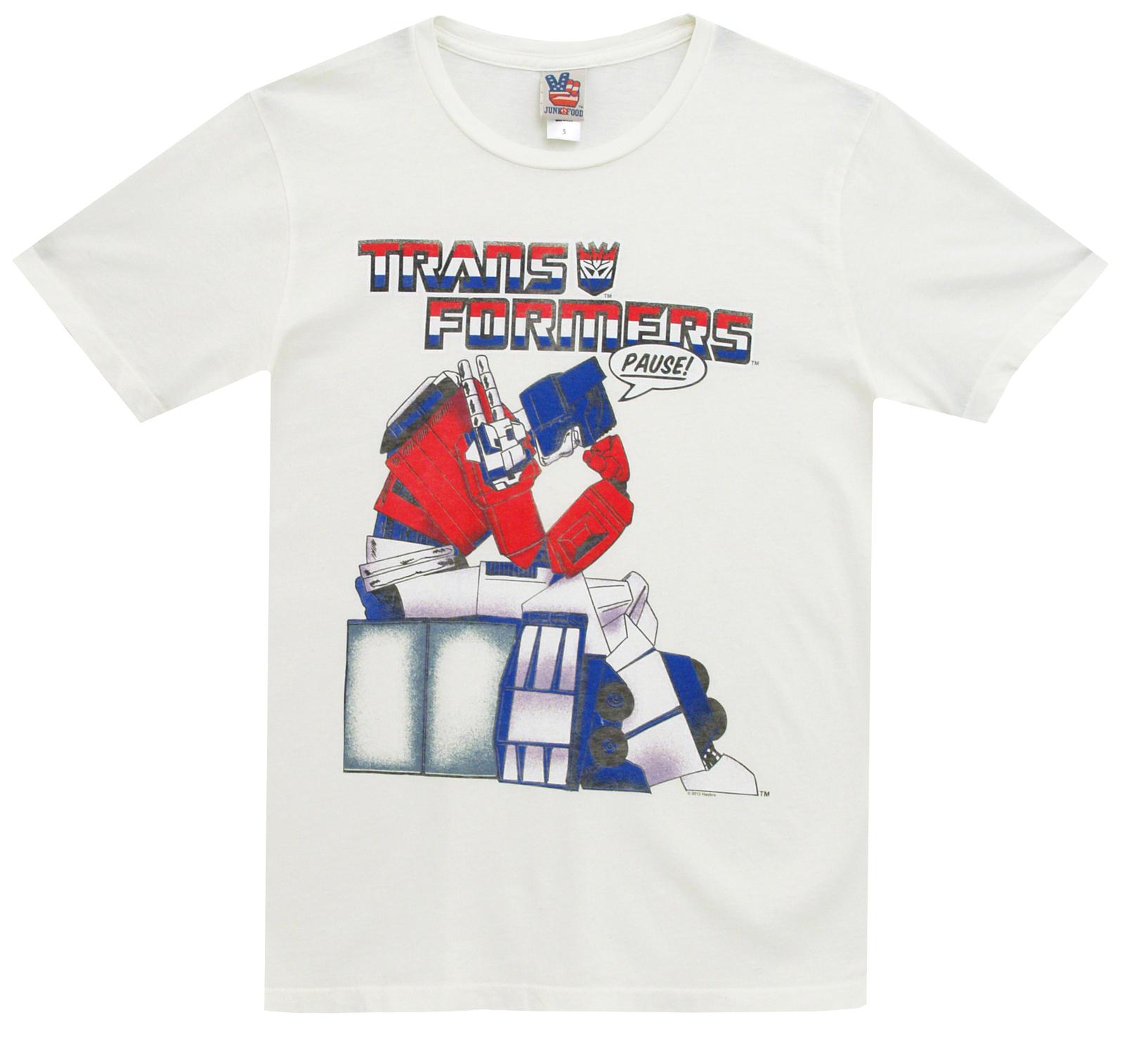 NWT GAP Junk Food Transformers Cartoon graphic Tee T-Shirt Shirt Tees XXL 14 16