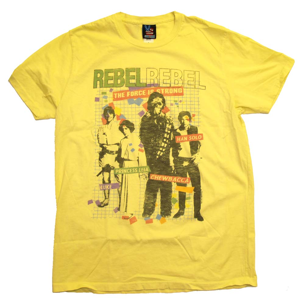 Star-Wars-Rebel-Alliance-Force-With-You-Princess-Leia-Vintage-Style-Soft-T-Shirt