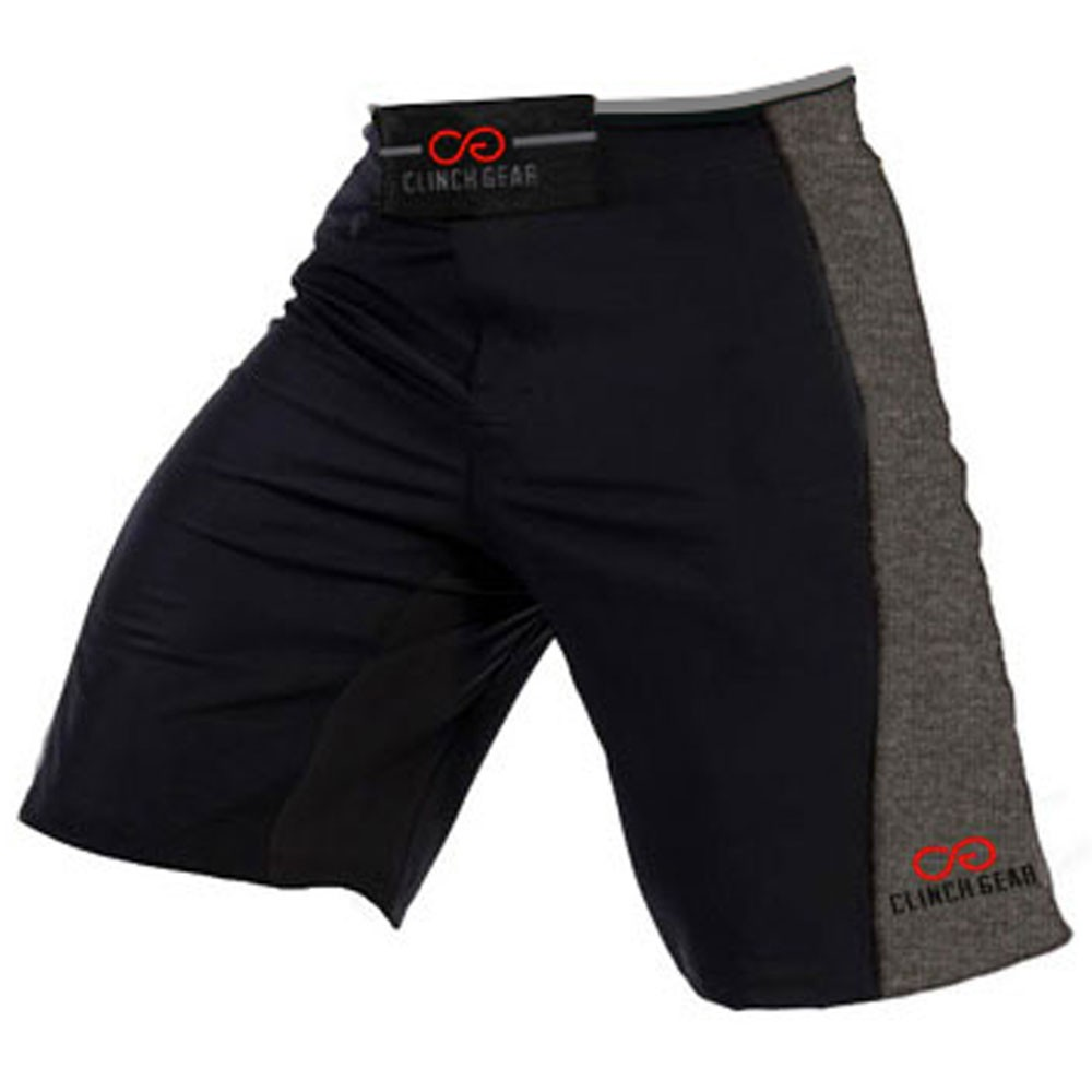Clinch Gear Mens Signature MMA Wrestling Multiple Shorts Black//Orange