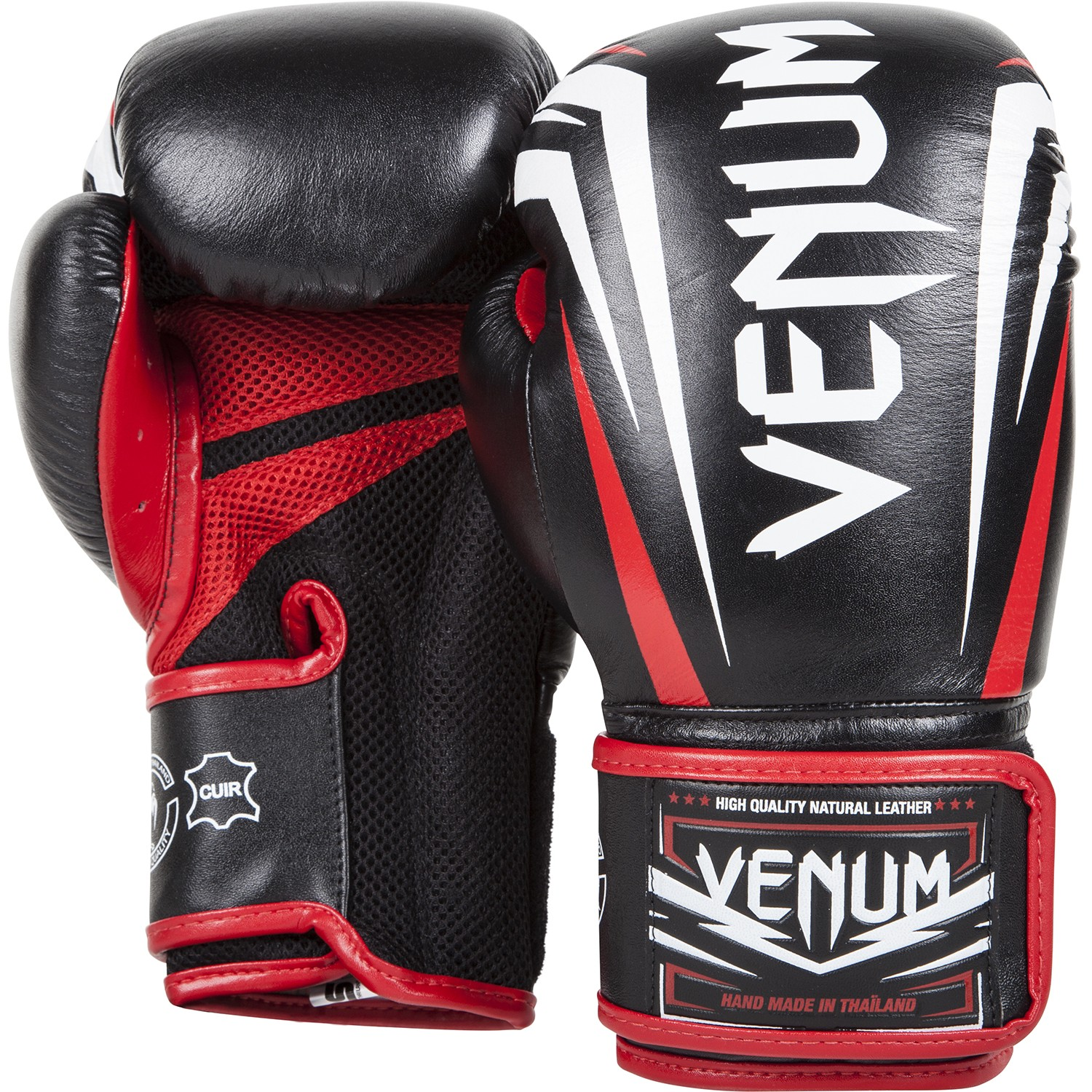 Red and Black Gloves
