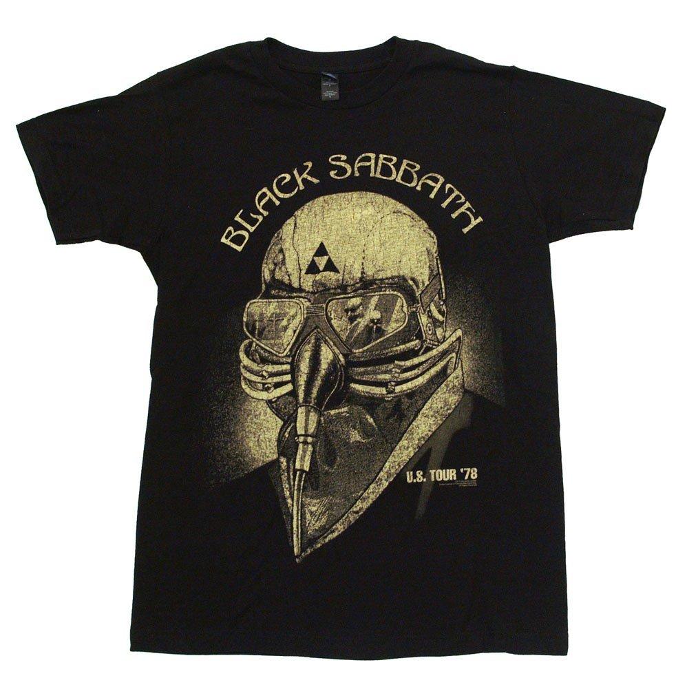 black sabbath us tour 78 t shirt adult iron man avengers officially licensed ebay. Black Bedroom Furniture Sets. Home Design Ideas