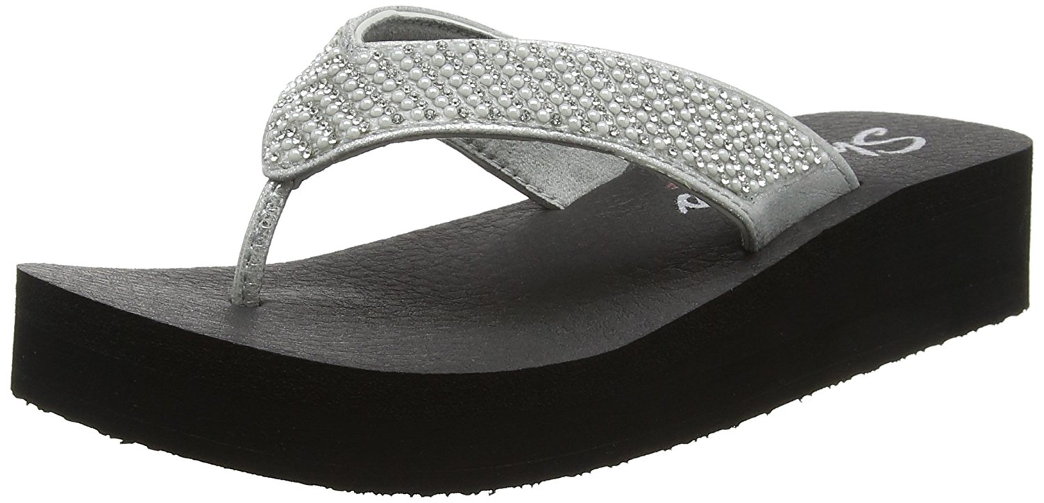 Skechers with Yoga Foam Women Beach League Black (37 EU)