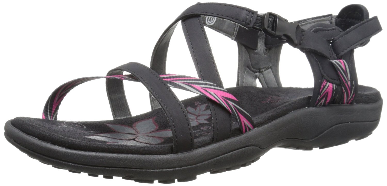 55c764a9e3a4 Skechers Women s Reggae Slim Keep Close Gladiator Sandals 2 Colors 7 ...