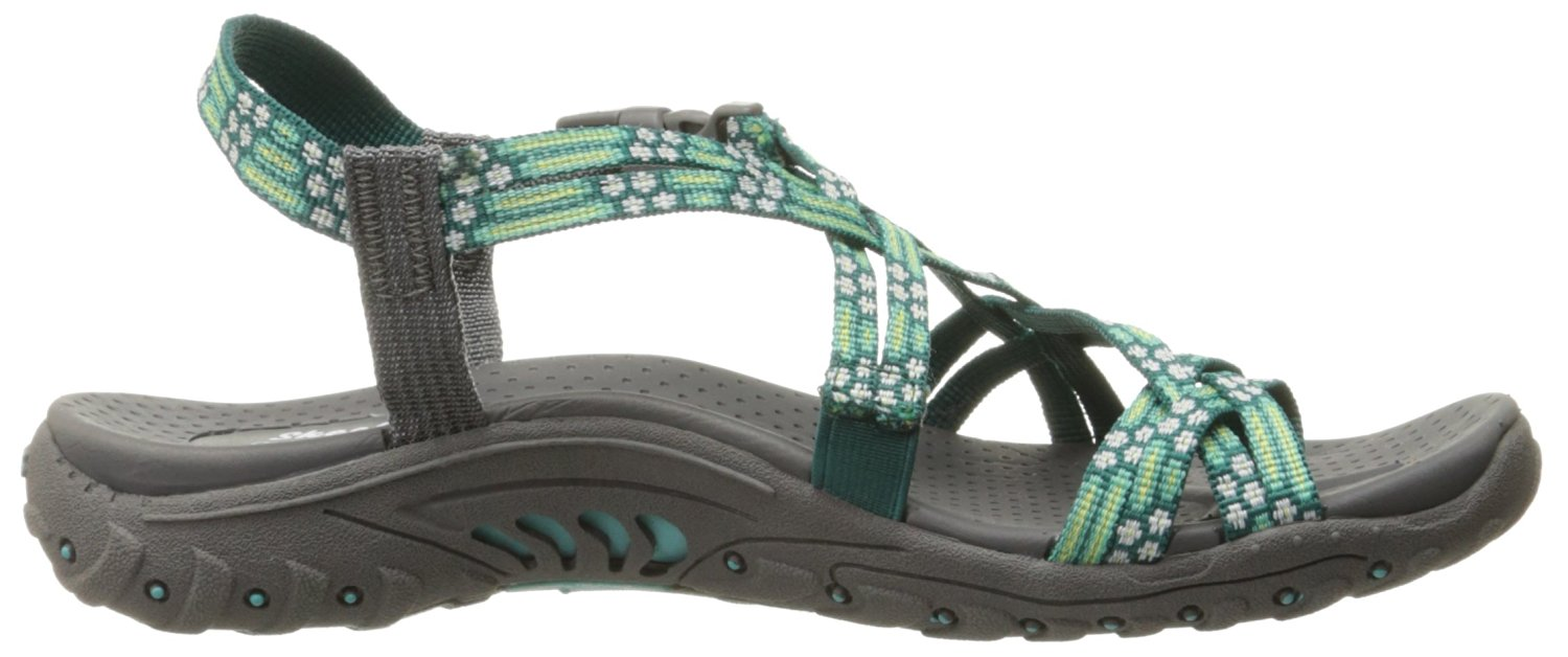 reputation first look for los angeles Details about Skechers Women's Reggae-Loopy Sandals
