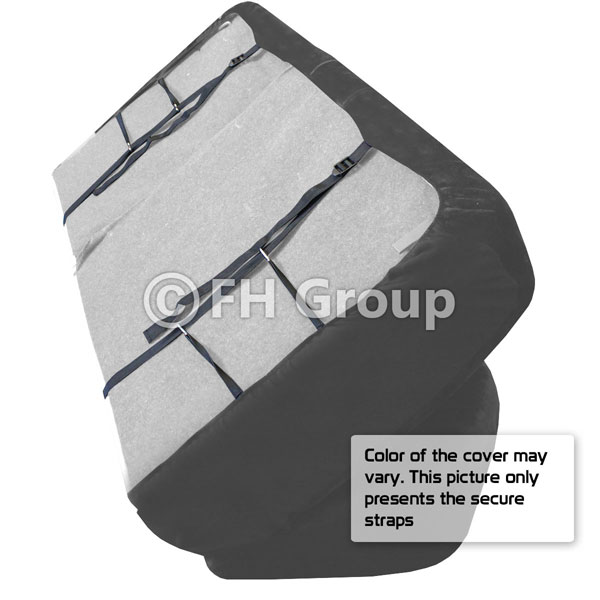 Rome PU Leather 3 Row Seat Covers For