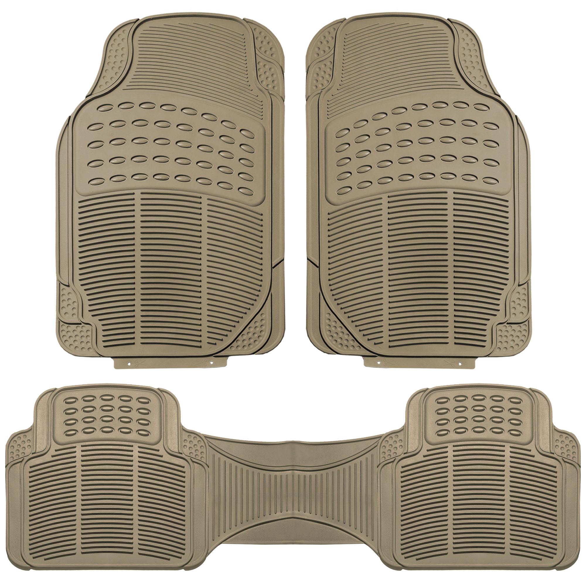 3pc-Floor-Mats-for-Auto-Car-SUV-Van-Heavy-Duty-3-Colors-w-Free-Gift thumbnail 4