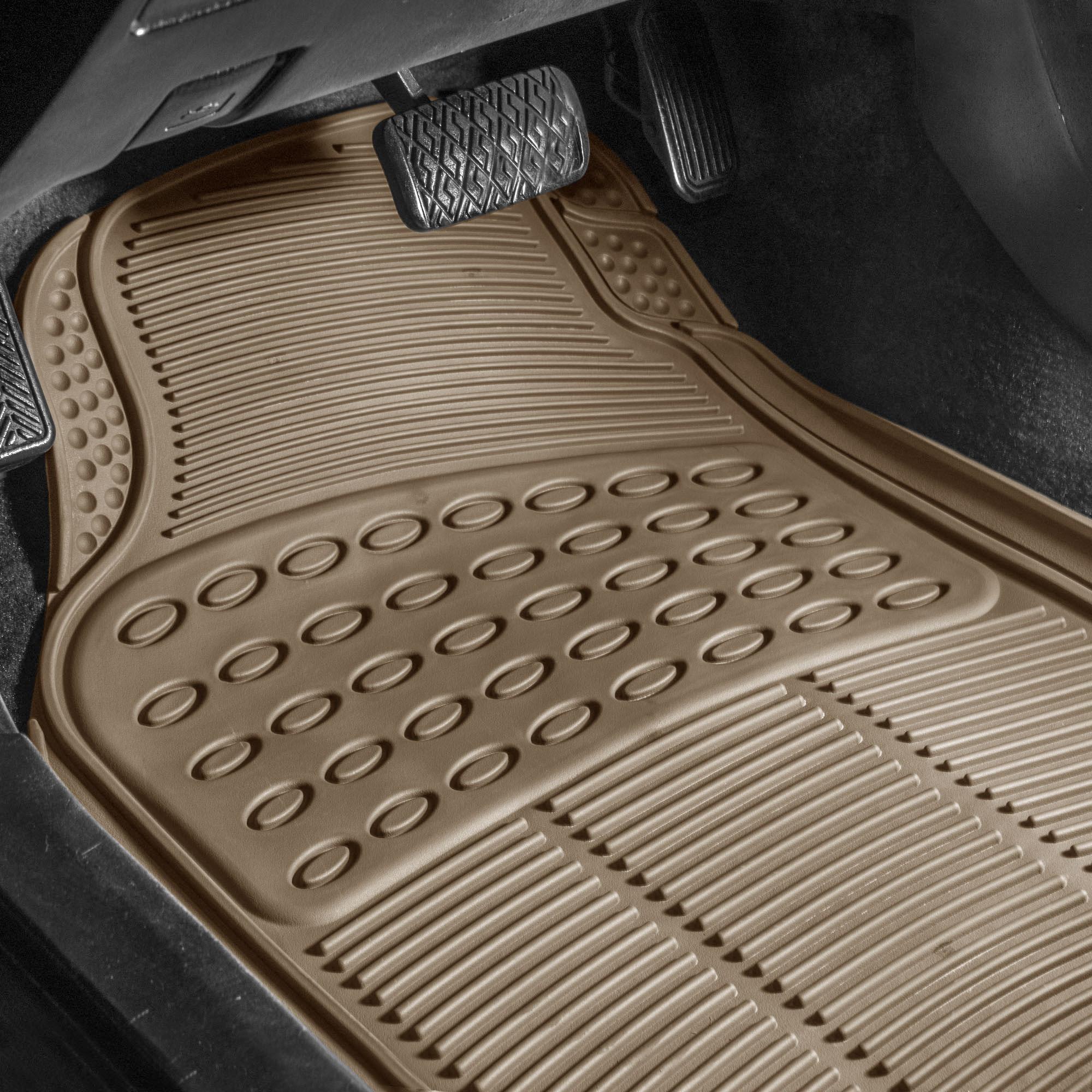 3pc-Floor-Mats-for-Auto-Car-SUV-Van-Heavy-Duty-3-Colors-w-Free-Gift thumbnail 5