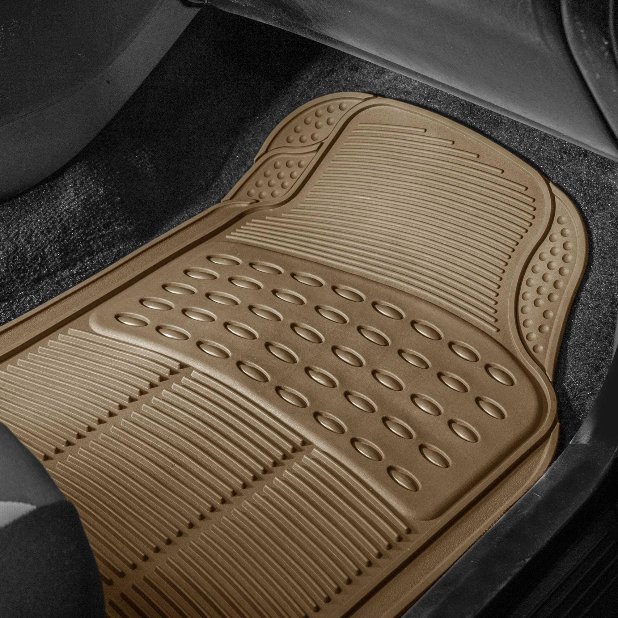 3pc-Floor-Mats-for-Auto-Car-SUV-Van-Heavy-Duty-3-Colors-w-Free-Gift thumbnail 6