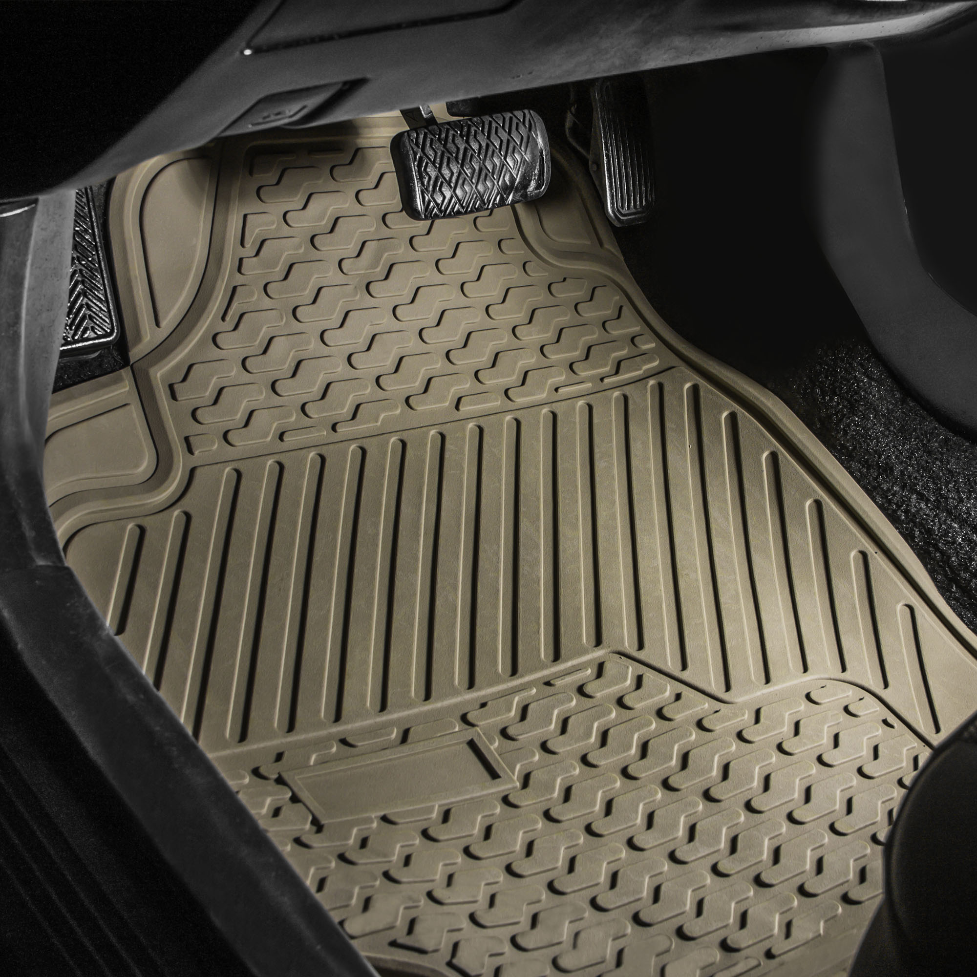 x topfit for floor seat mats model auto tesla car customized mat pin black