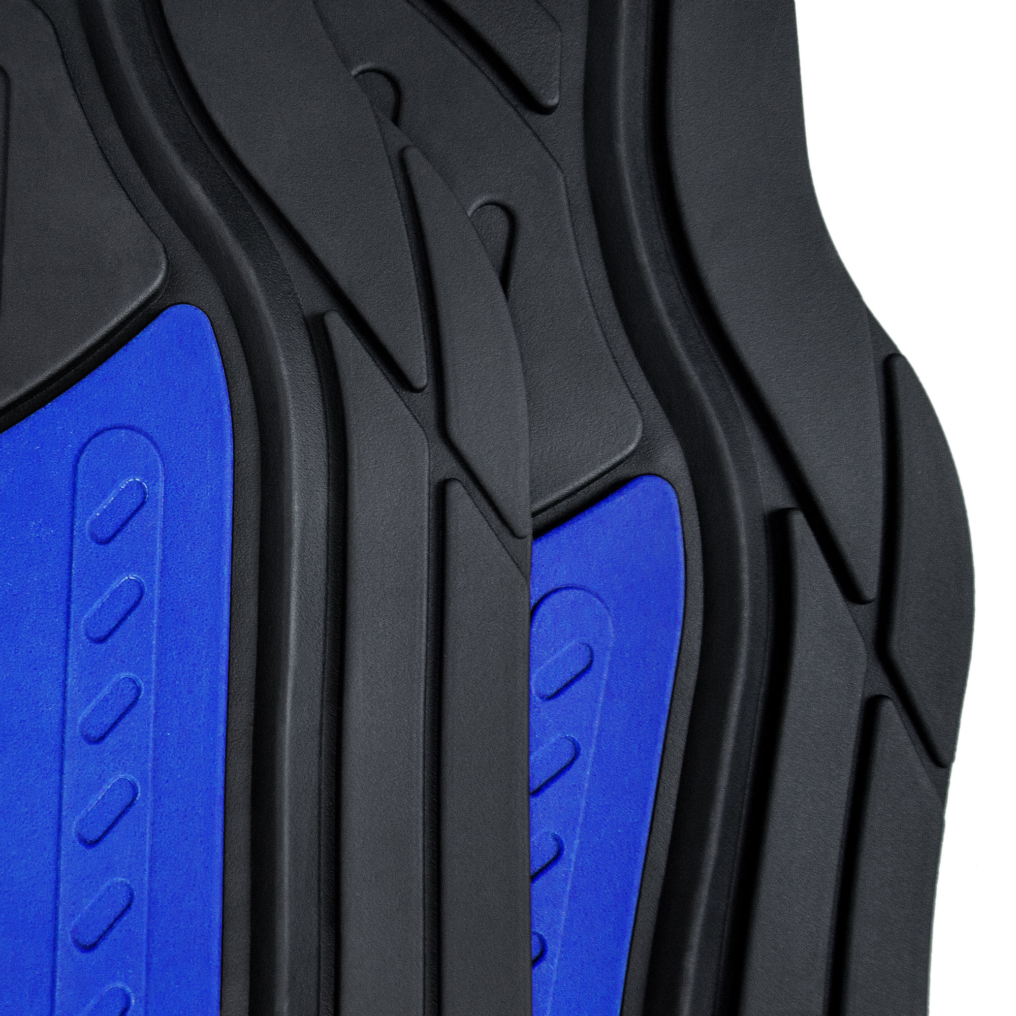 Car-Floor-Mats-for-All-Weather-Rubber-2-Tone-Design-4pc-Set-Heavy-Duty thumbnail 13