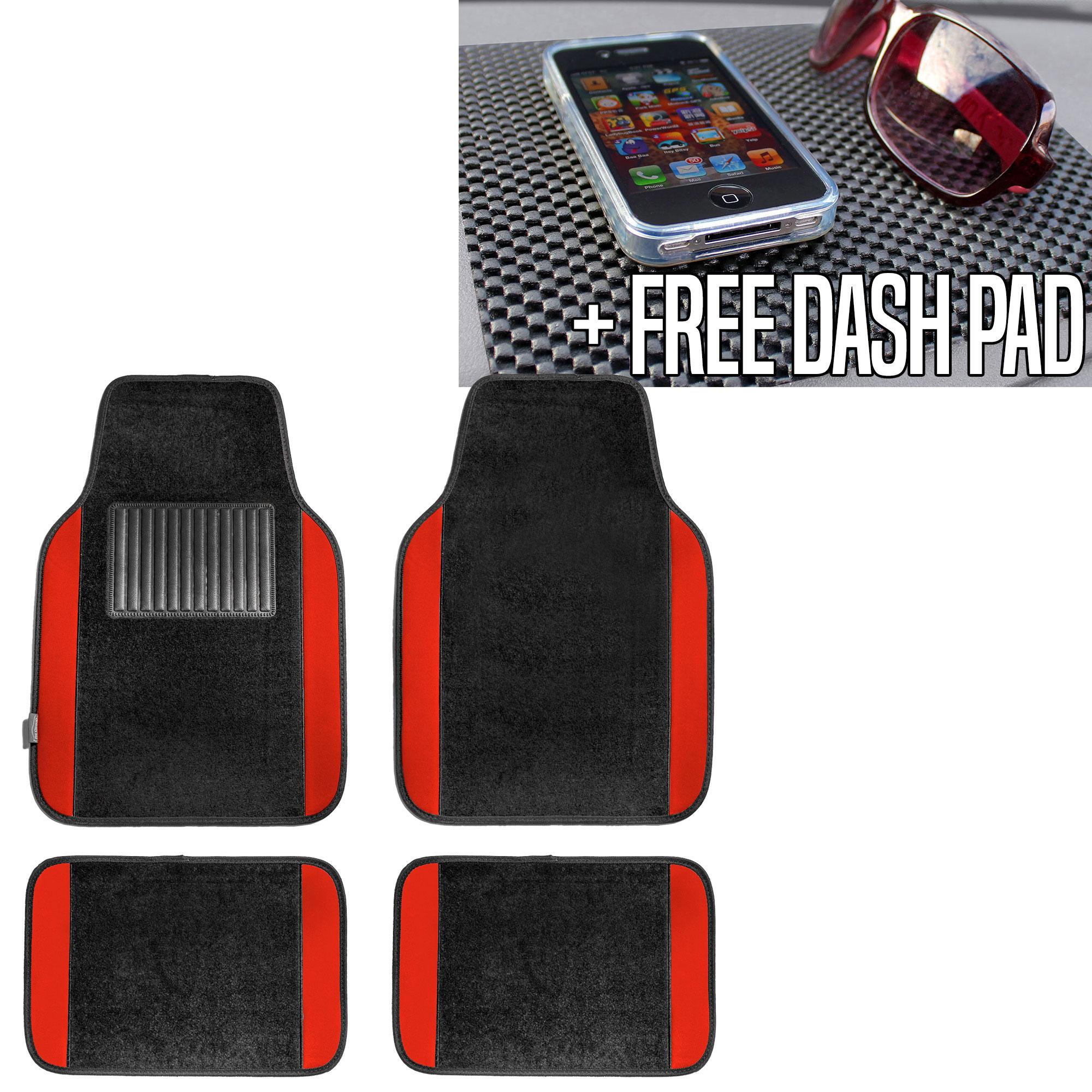 buick mat covers enclave floor auto for black w set seat itm car mats ebay