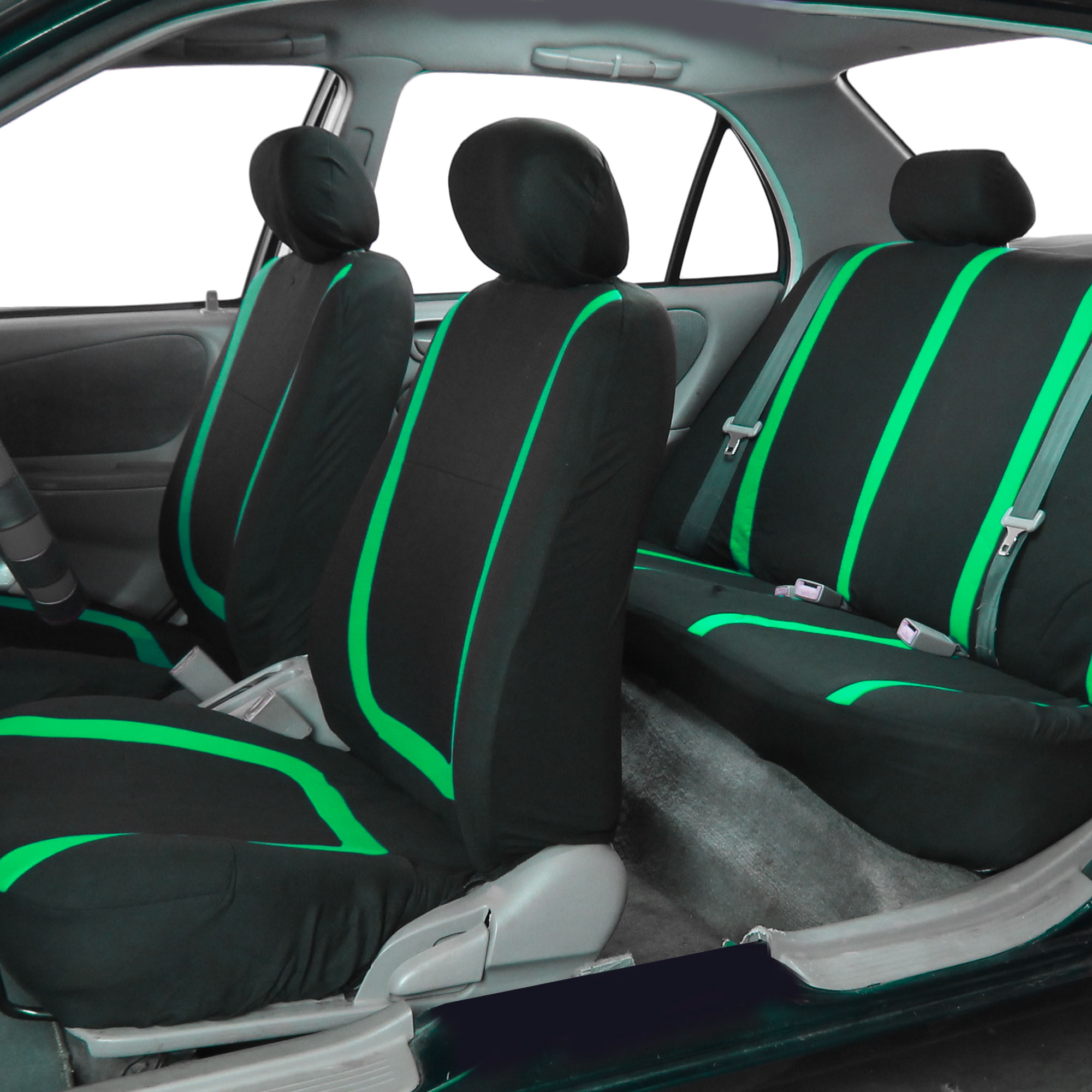 auto seat covers for car sedan truck van universal seat covers 12 colors ebay. Black Bedroom Furniture Sets. Home Design Ideas