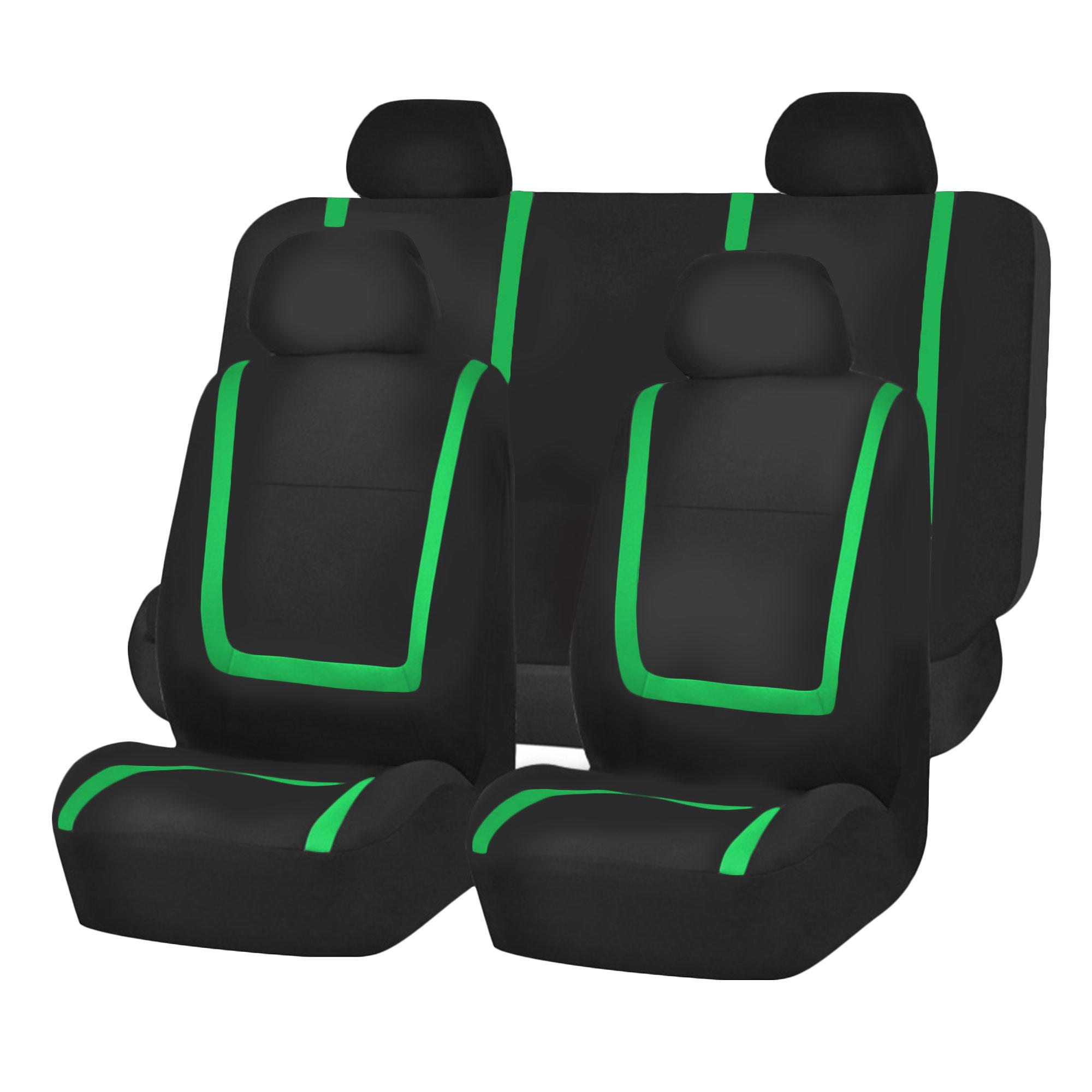 Auto Seat Covers for Car Sedan Truck Van Universal Seat Covers 12 Colors Green